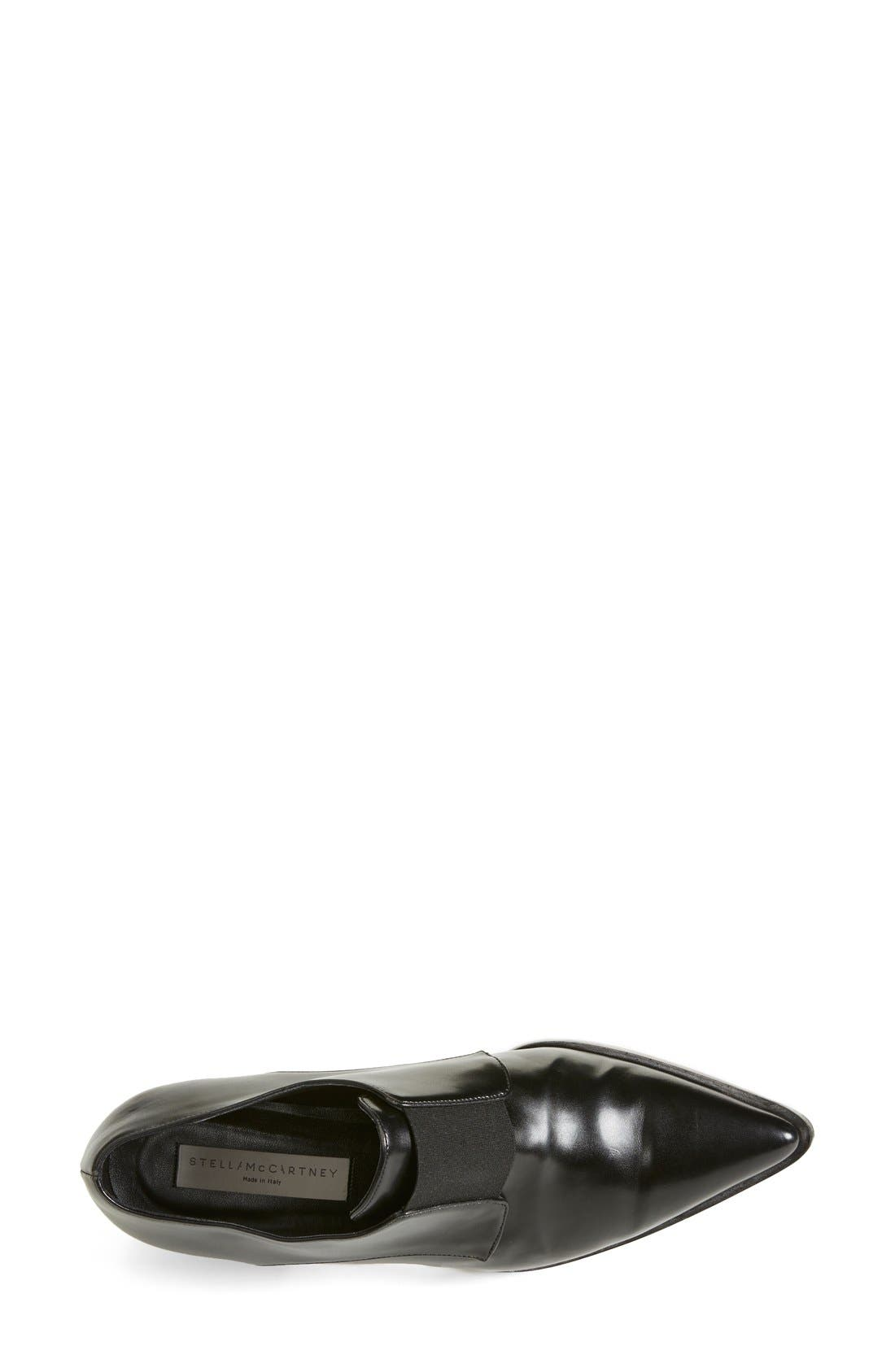 Alternate Image 3  - Stella McCartney Pointy Toe Loafer Flat (Women)