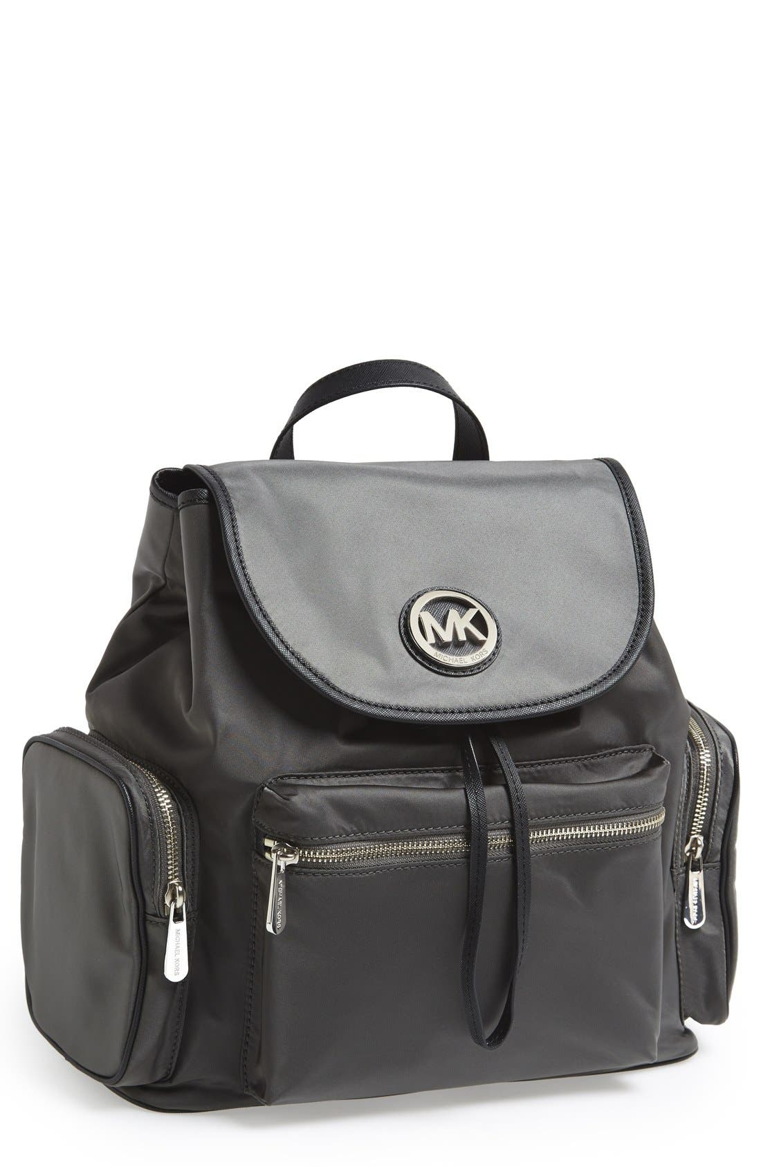 Main Image - MICHAEL Michael Kors 'Fulton' Nylon Backpack