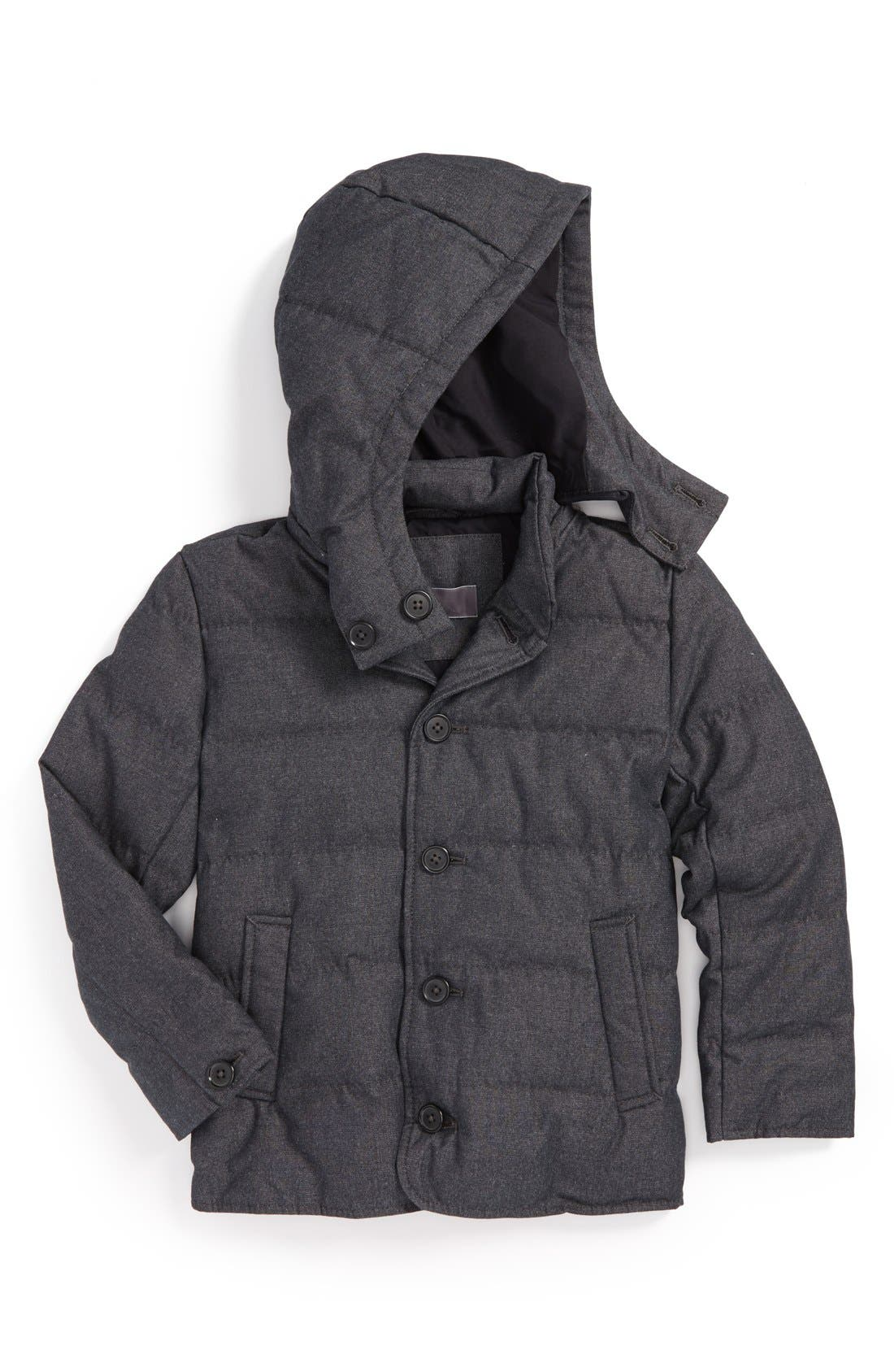 Alternate Image 1 Selected - Vince Down Fill Puffer Jacket (Big Boys)