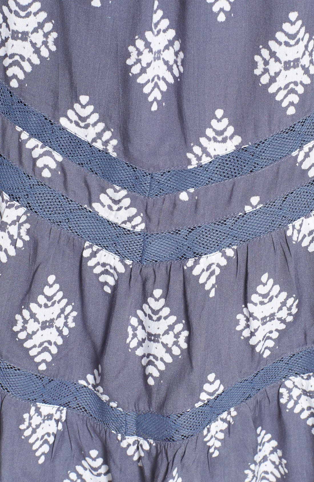 Alternate Image 4  - Volcom 'Holey Smokes' Lace Trim Slipdress