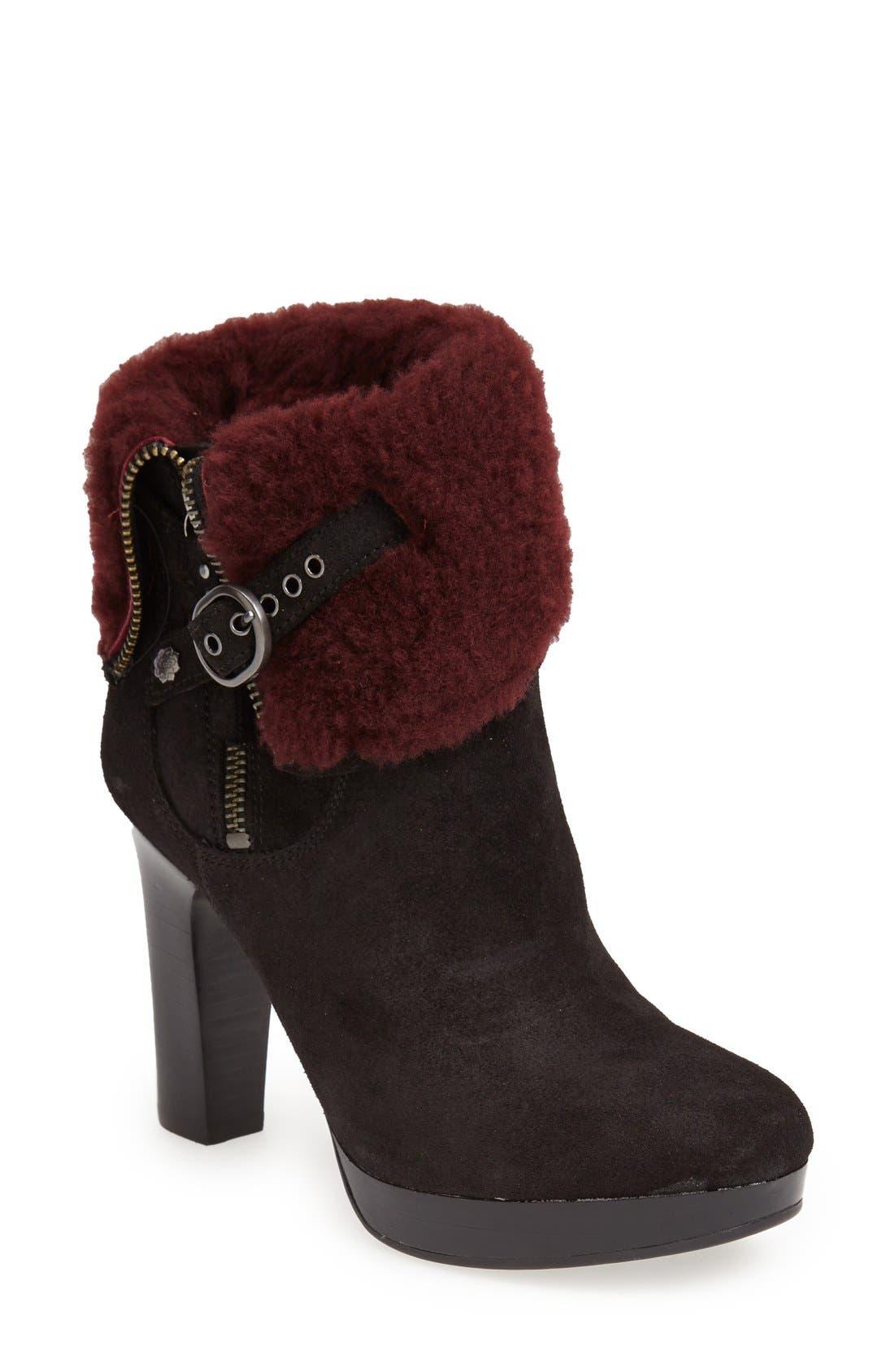 Alternate Image 1 Selected - UGG® Australia 'Scarlett' Fixed Cuff Platform Boot (Women)