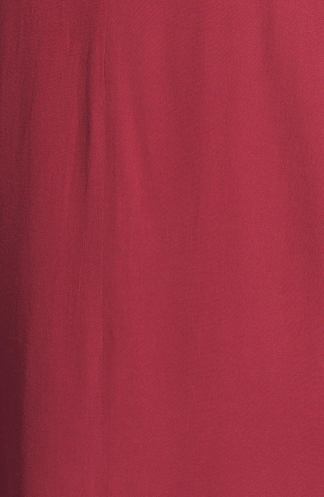 Alternate Image 3  - WAYF Long Sleeve Crepe Shift Dress