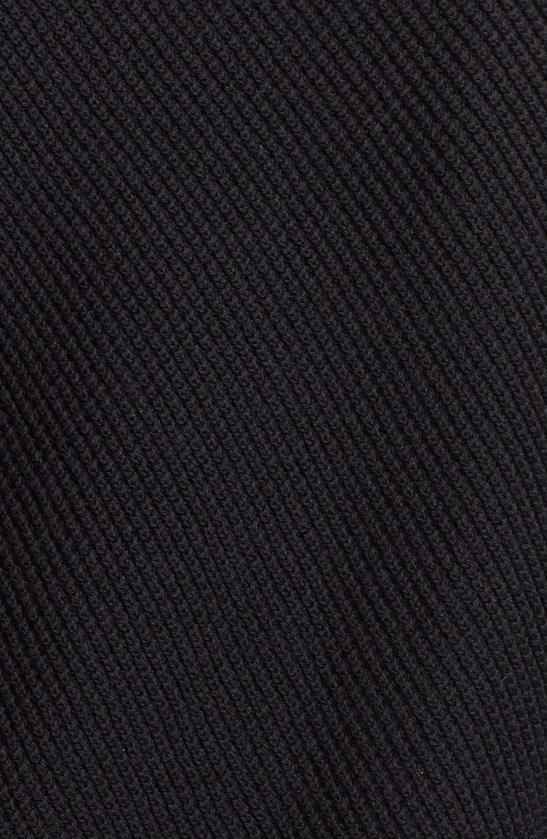 Alternate Image 3  - Vince Leather Trim Texture Sweater