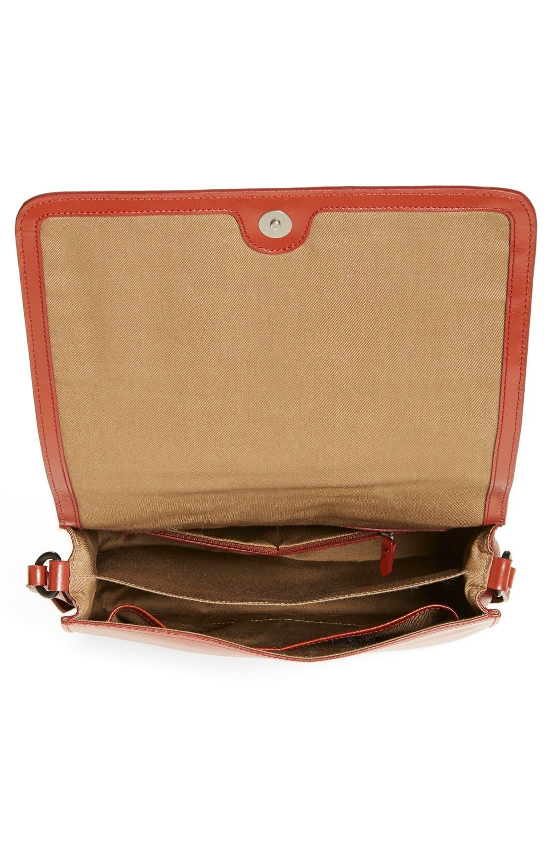 Alternate Image 3  - Kelsi Dagger Brooklyn 'Courier' Leather Crossbody Bag