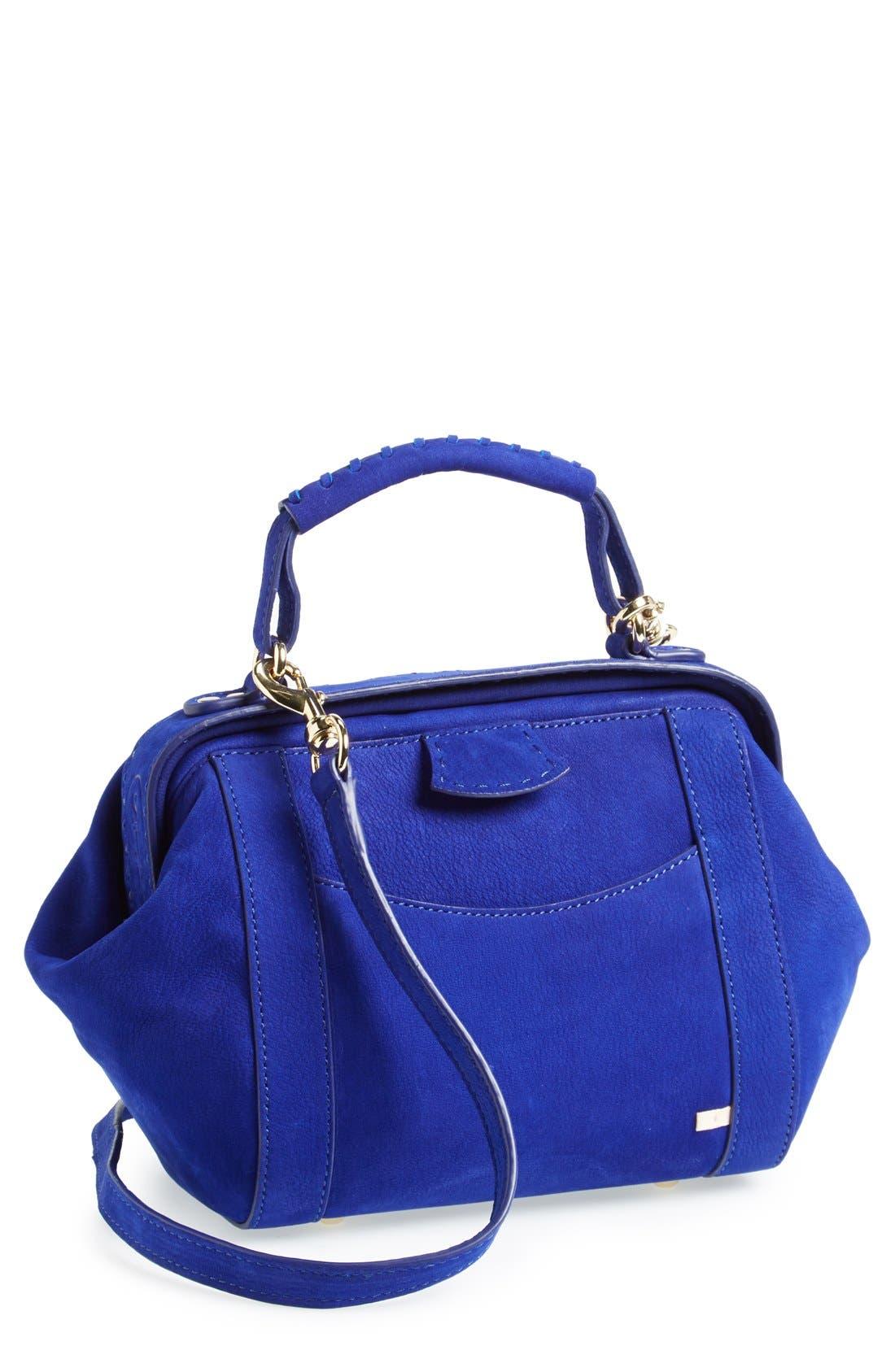 Main Image - SJP 'Waverly' Suede Crossbody Bag