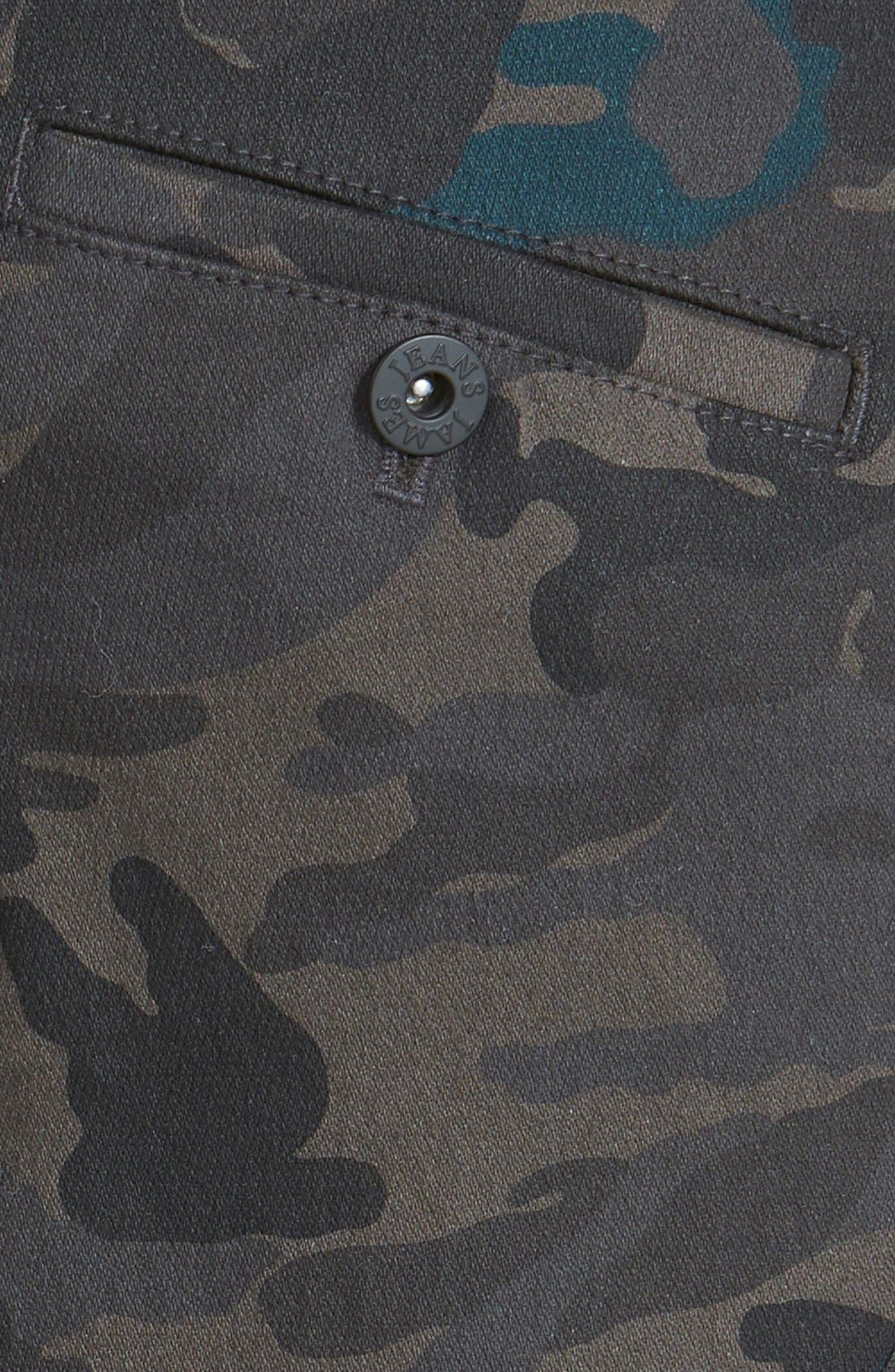 Alternate Image 3  - James Jeans Slouchy Camouflage Cargo Pants