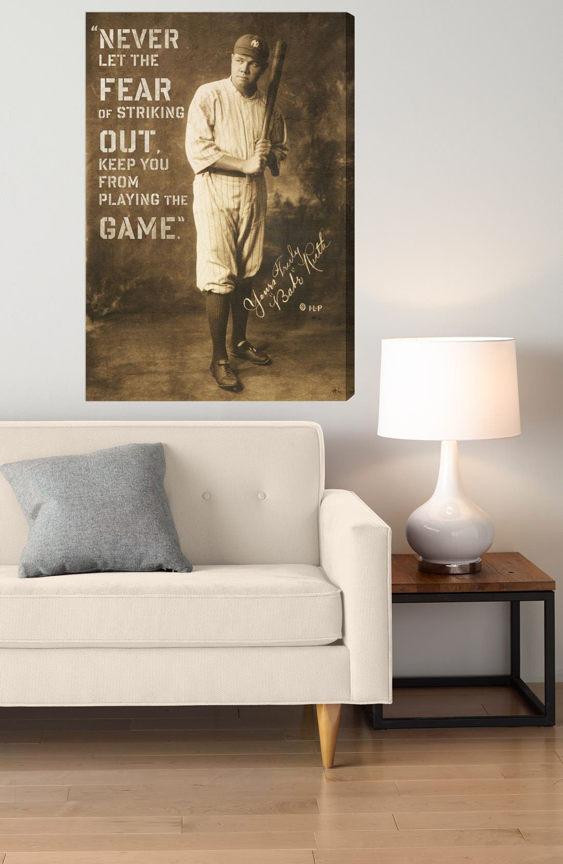 Alternate Image 2  - Oliver Gal 'Babe Ruth' Wall Art
