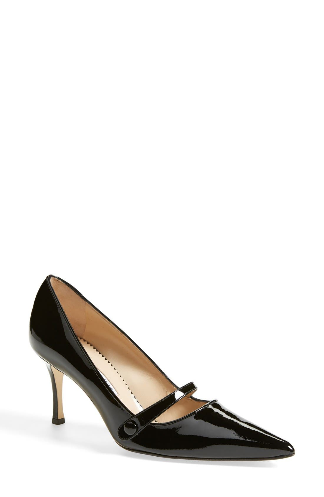 Alternate Image 1 Selected - Manolo Blahnik 'Mladari' Mary Jane Pump (Women)