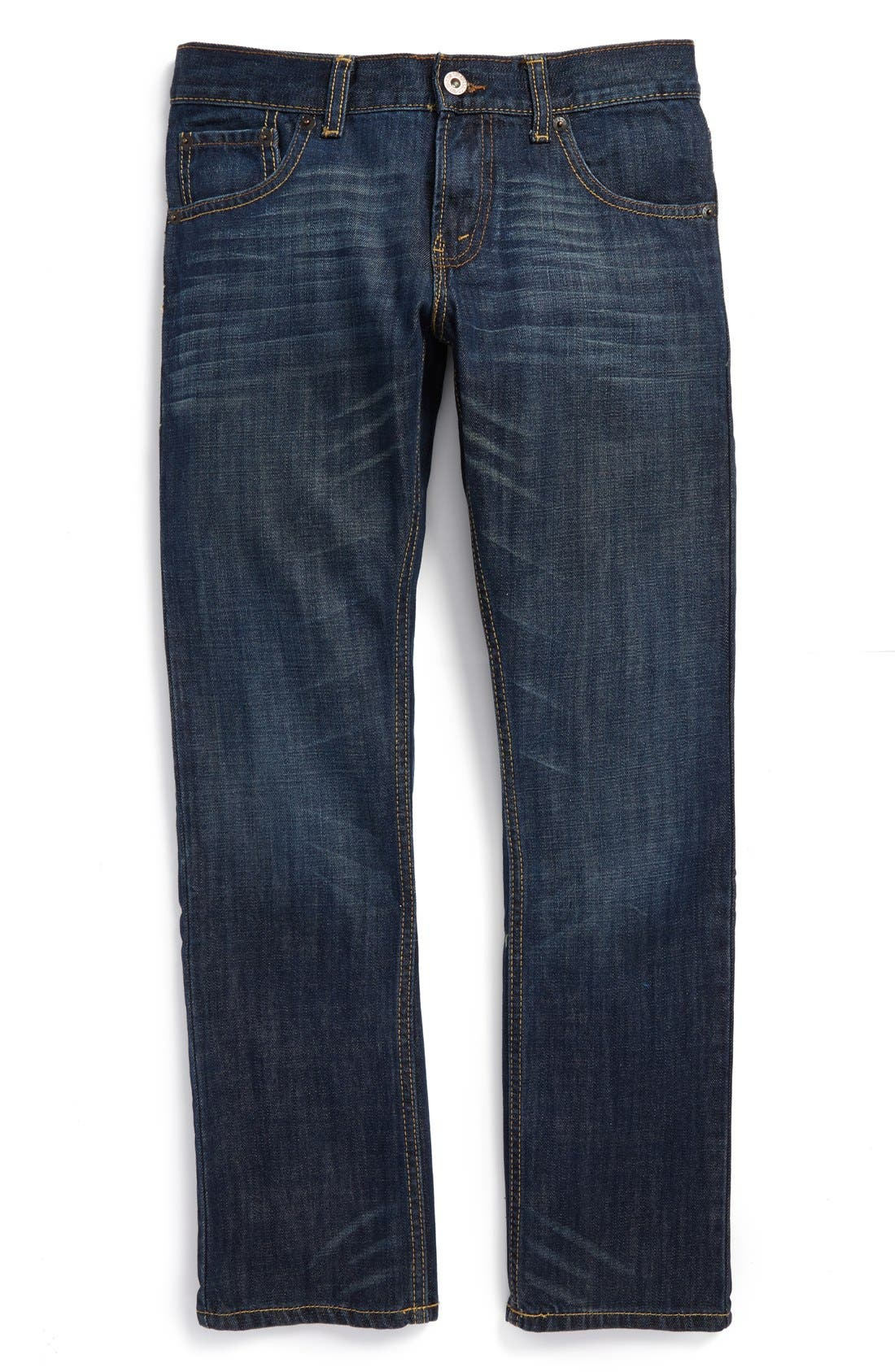 Alternate Image 1 Selected - Levi's® '513™' Slim Straight Jeans (Big Boys)