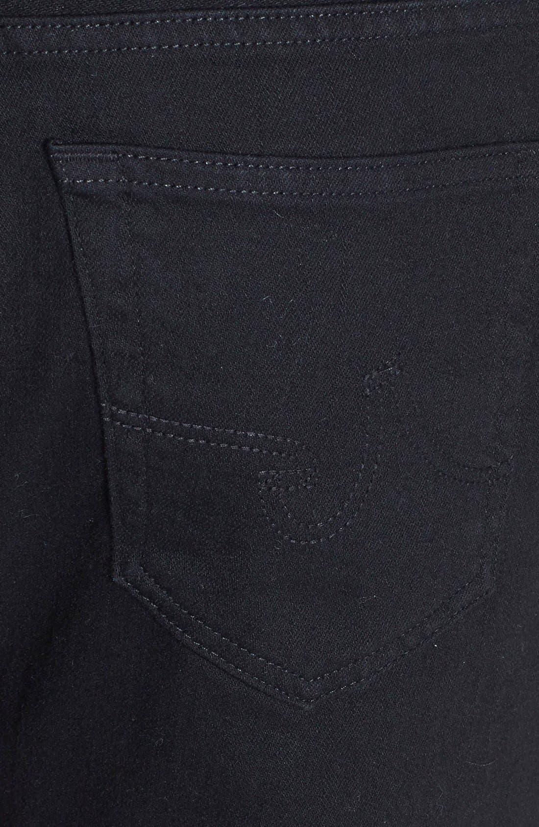 Alternate Image 4  - AG Graduate Slim Straight Leg Jeans (Blackbird)