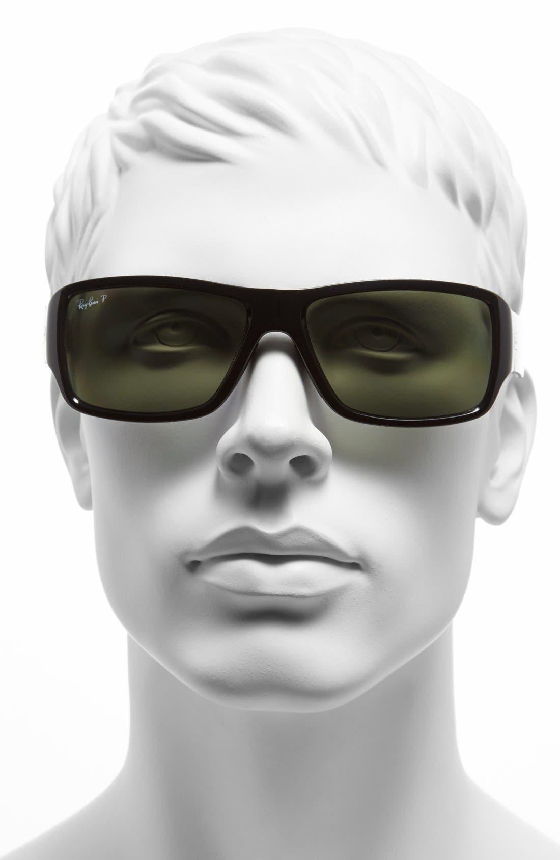 Alternate Image 2  - Ray-Ban 61mm Polarized Sunglasses