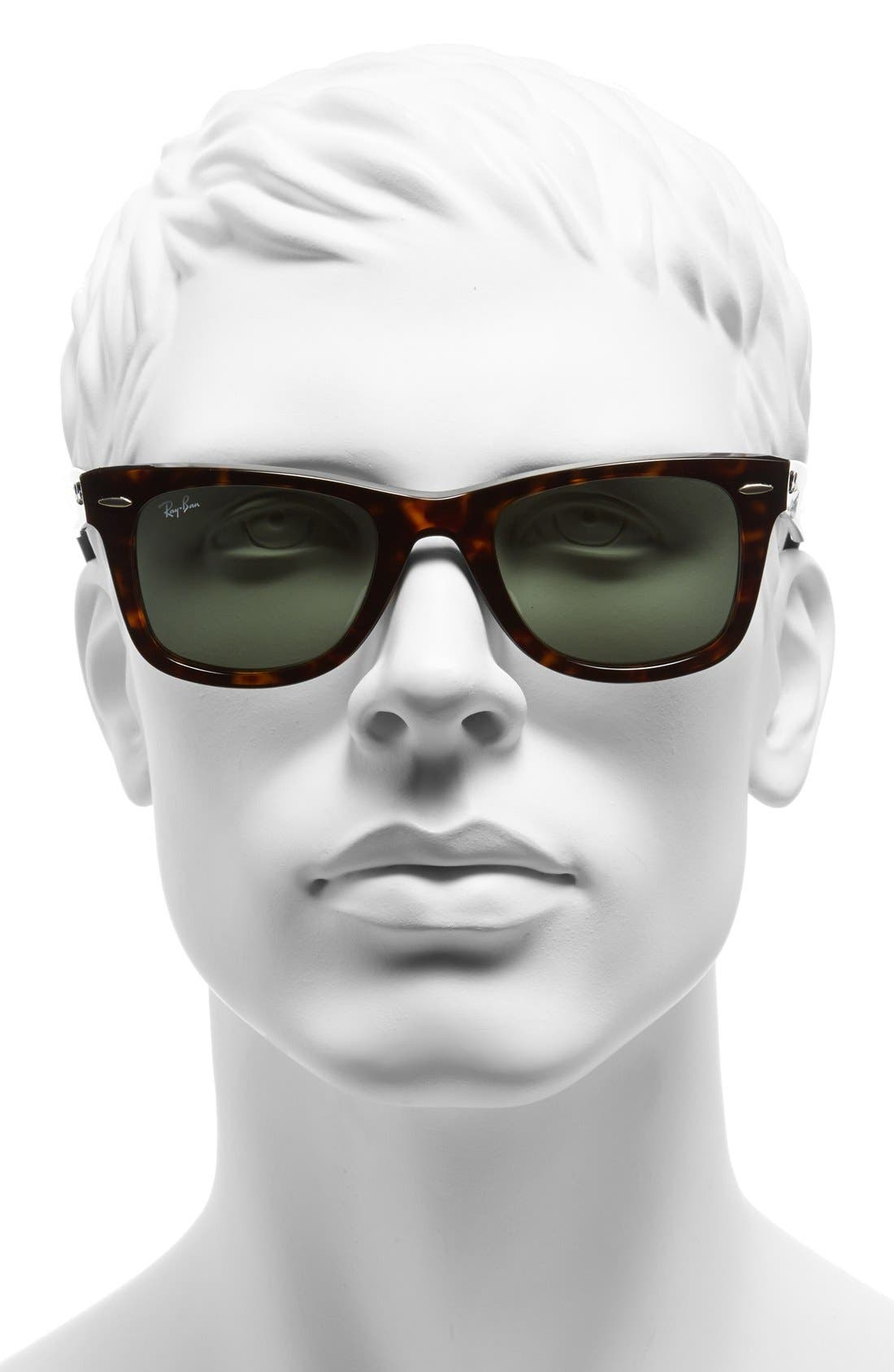Alternate Image 2  - Ray-Ban Classic Wayfarer 54mm Sunglasses