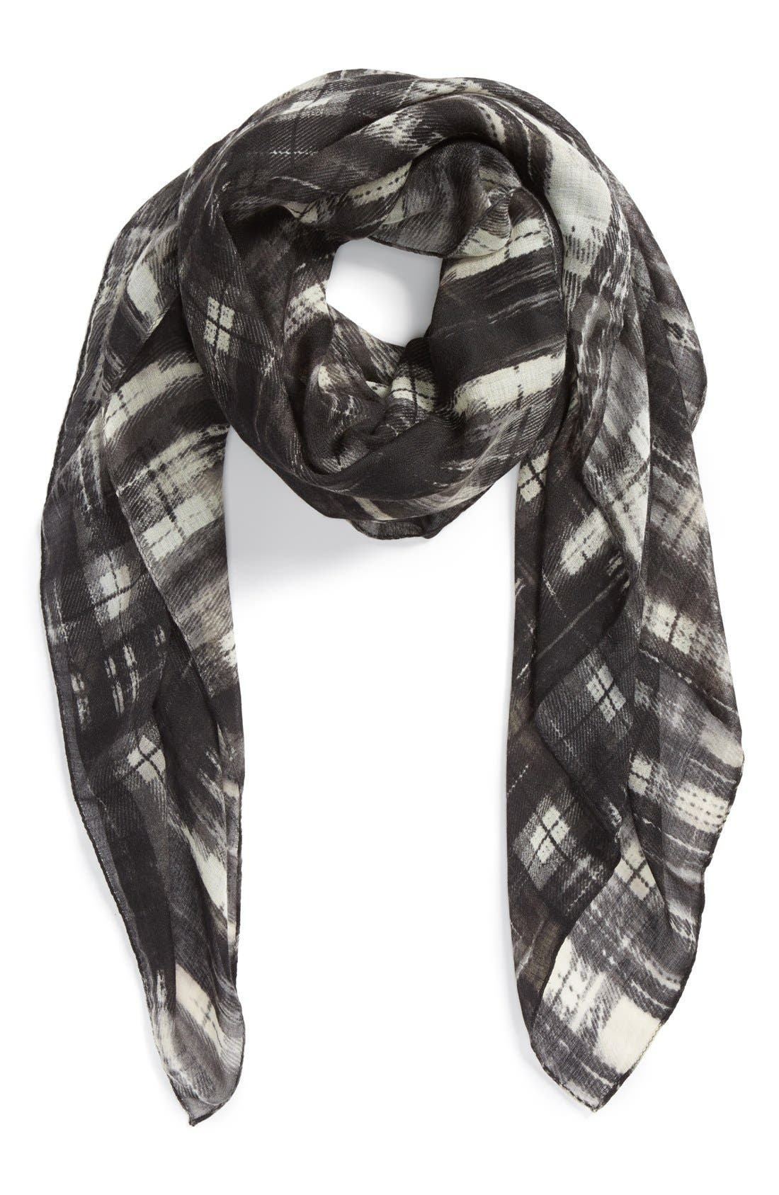 Alternate Image 1 Selected - Vince Camuto 'Urban Plaid' Scarf