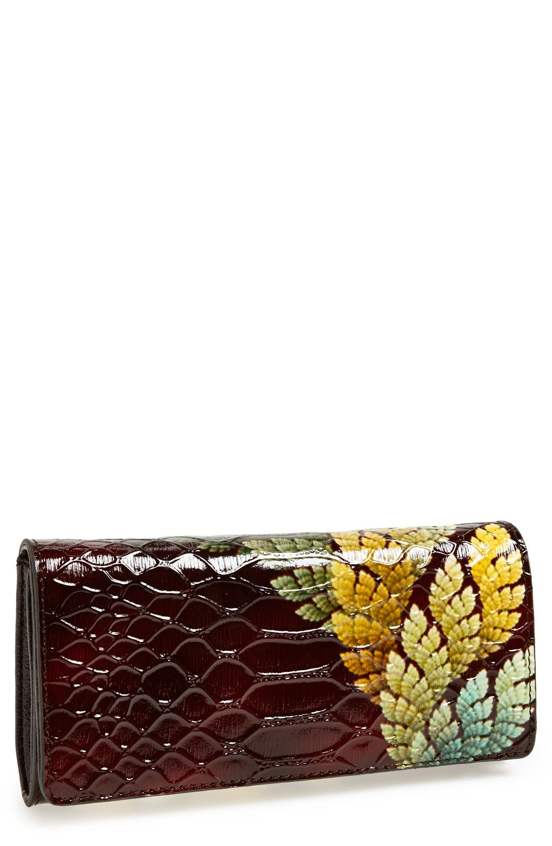 Alternate Image 1 Selected - Sondra Roberts Croc Embossed Clutch
