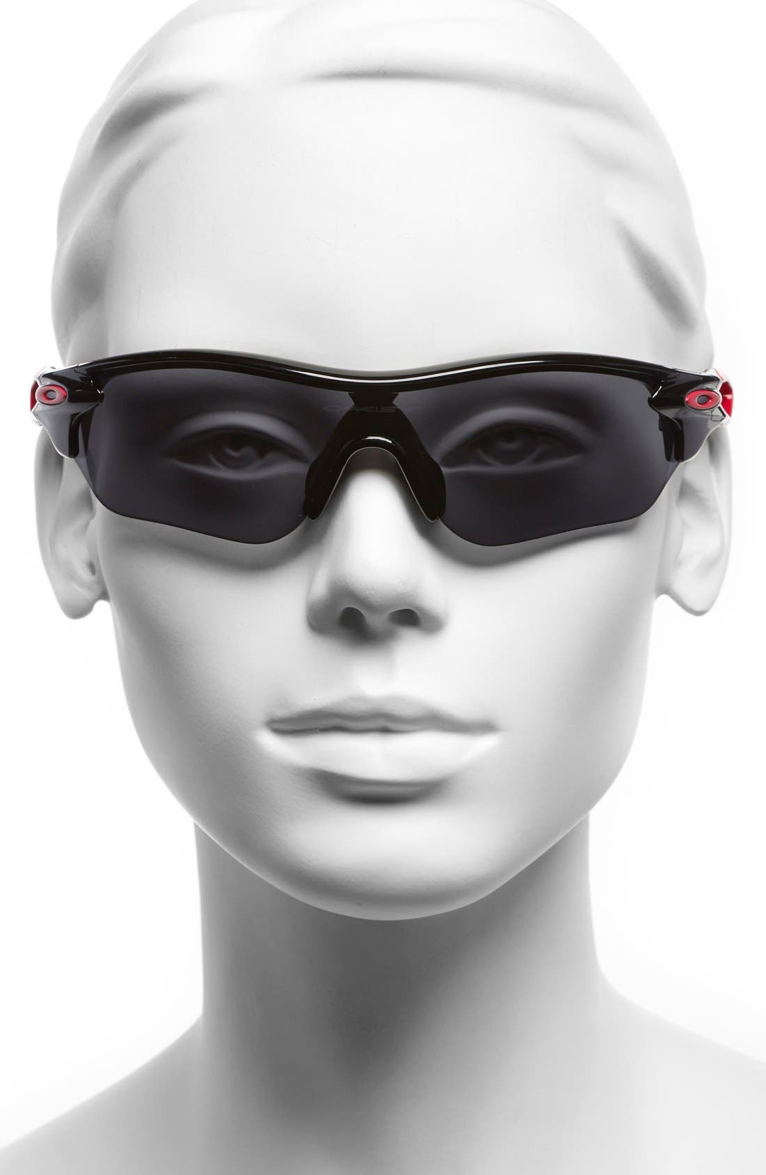 Alternate Image 2  - Oakley 'RadarLock™' Edge' 155mm Sunglasses