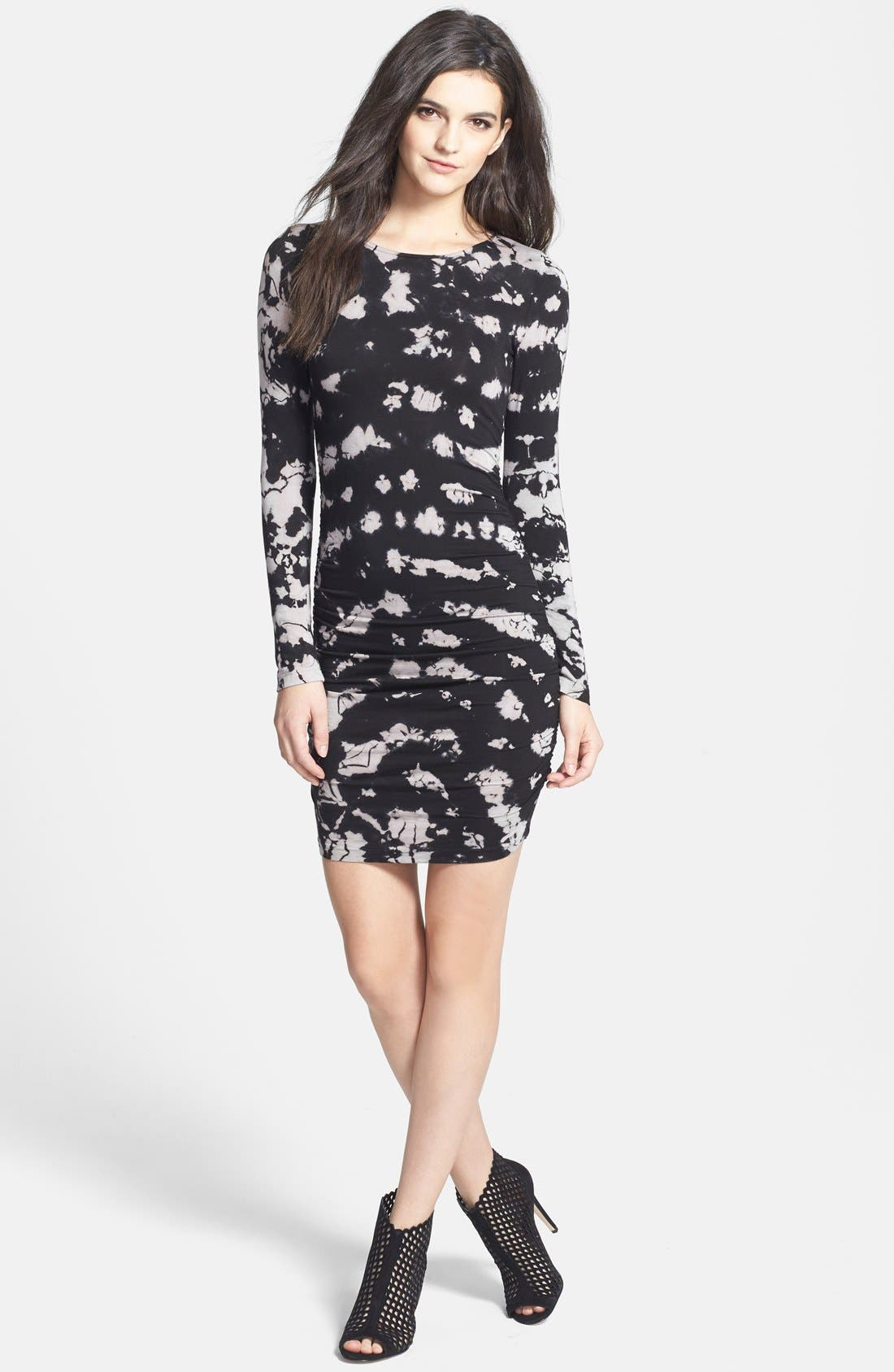 Alternate Image 1 Selected - Gypsy 05 Long Sleeve Body-Con Dress