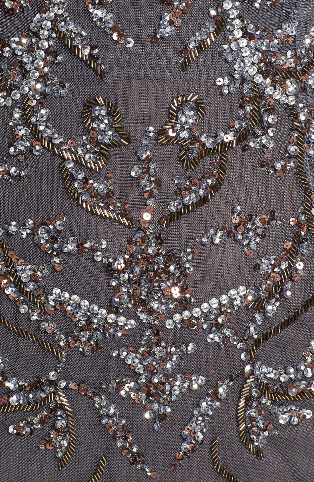 Alternate Image 3  - Aidan Mattox Embellished Mesh Gown