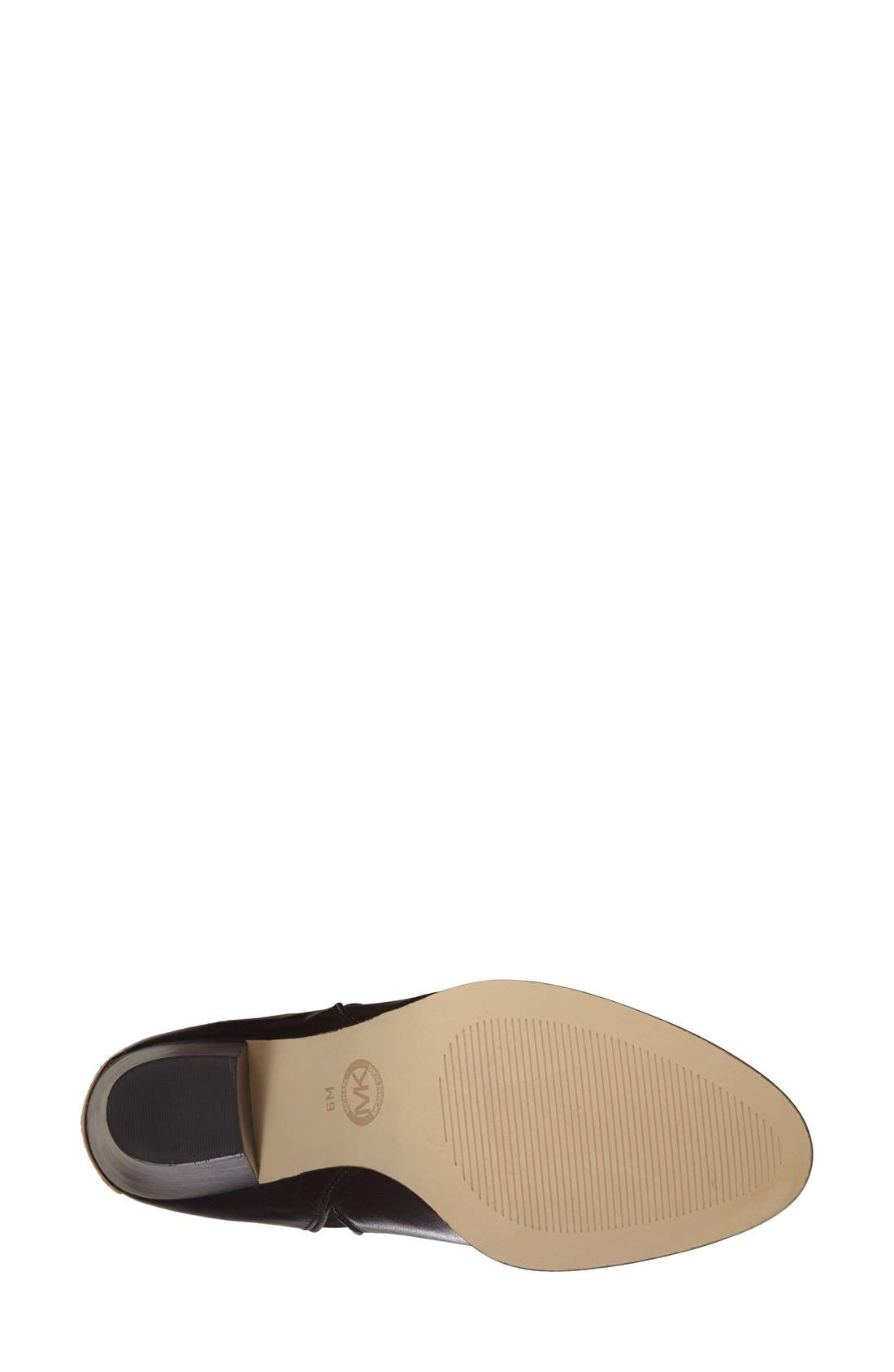 Alternate Image 4  - MICHAEL Michael Kors 'Brandy' Leather Bootie (Women)