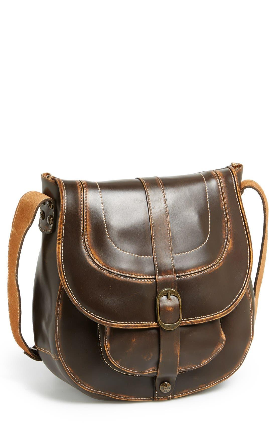 Alternate Image 1 Selected - Patricia Nash 'Barcellona' Leather Crossbody Bag