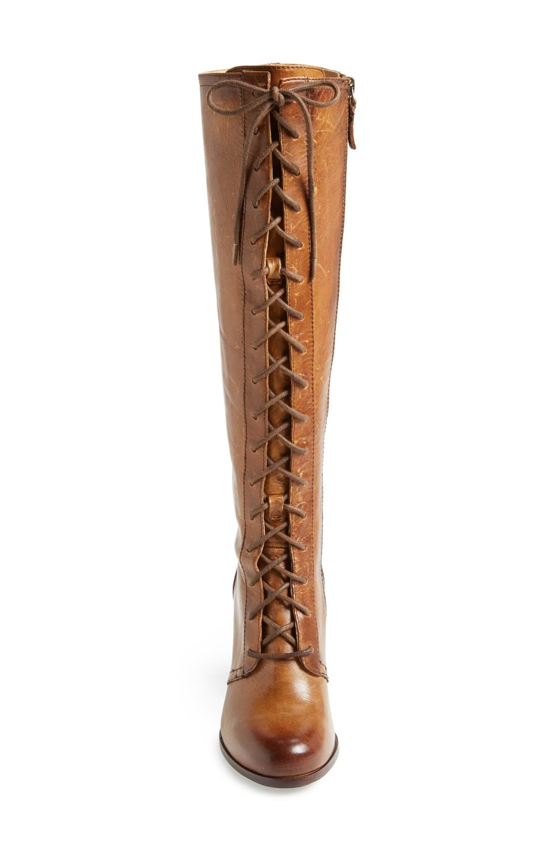 Alternate Image 3  - Frye 'Parker' Lace-Up Tall Boot (Women)
