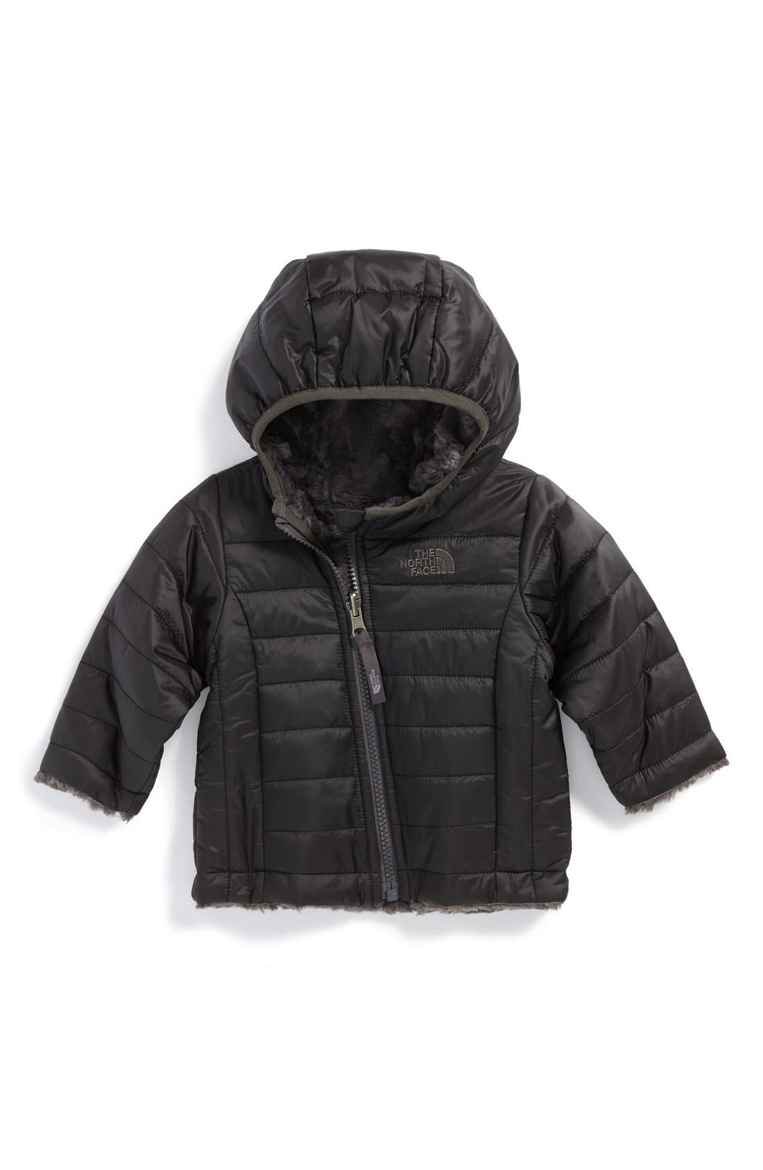 Main Image - The North Face 'Mossbud Swirl' Reversible Jacket (Baby)