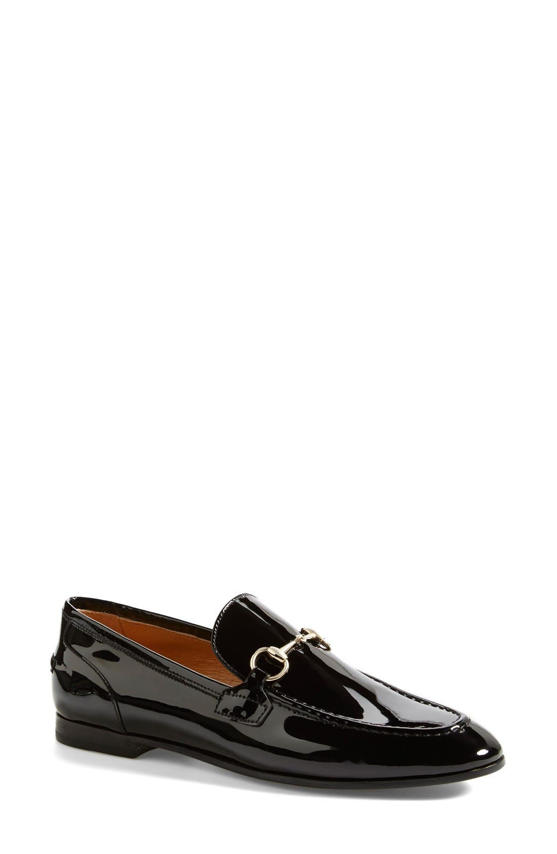 Alternate Image 1 Selected - Gucci 'New Power' Patent Leather Loafer