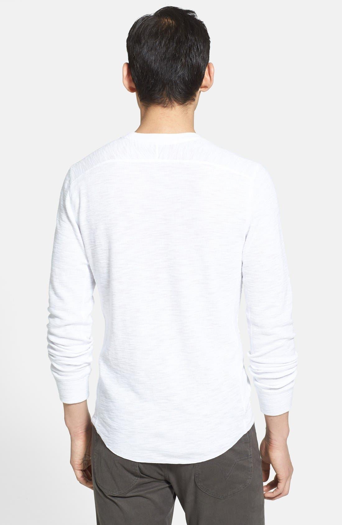 Alternate Image 2  - Vince Slubbed Thermal T-Shirt