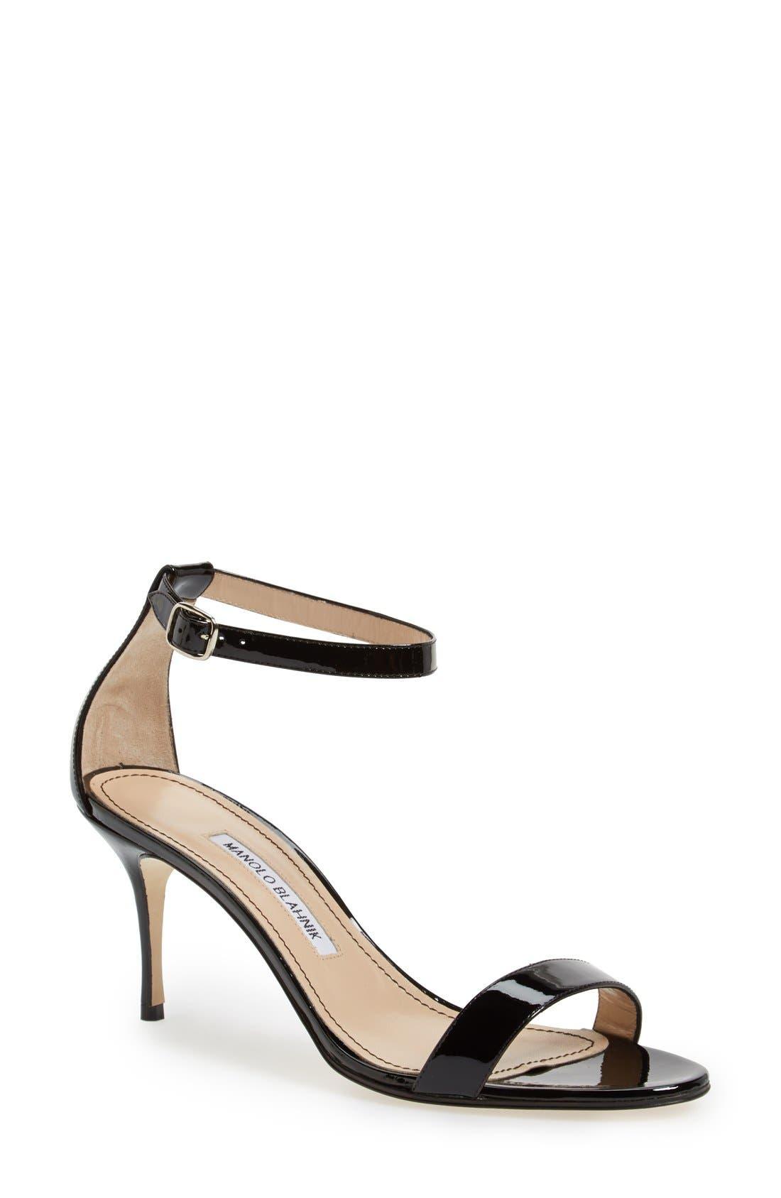 MANOLO BLAHNIK 'Chaos' Ankle Strap Sandal