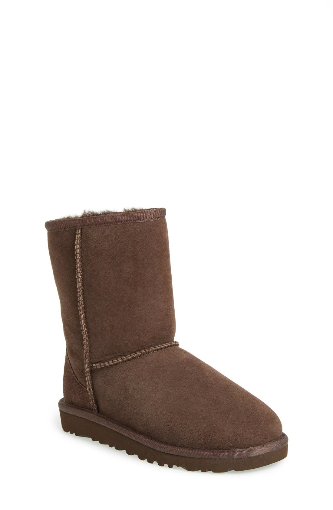 Alternate Image 1 Selected - UGG® Classic Short Boot (Walker, Toddler, Little Kid & Big Kid)