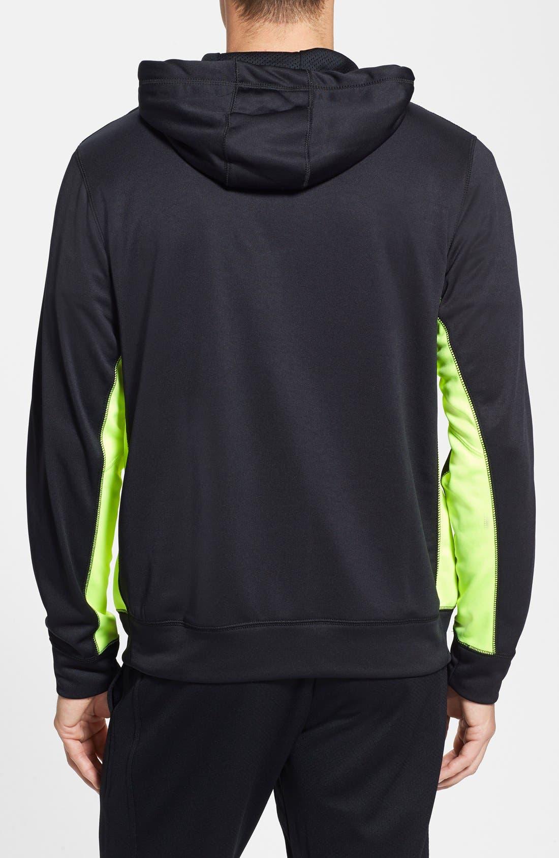 Alternate Image 2  - Nike 'KO' Zip Hoodie