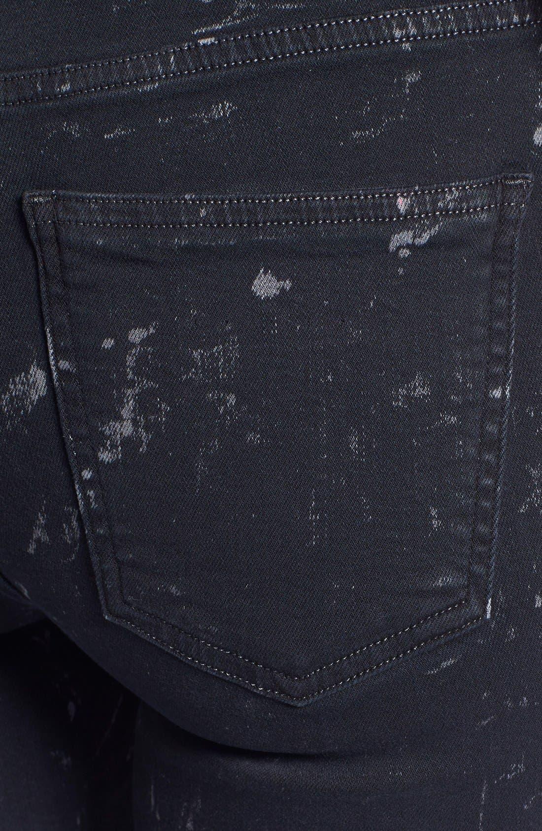 Alternate Image 3  - Citizens of Humanity 'Rocket' Skinny Jeans (Starry Black)