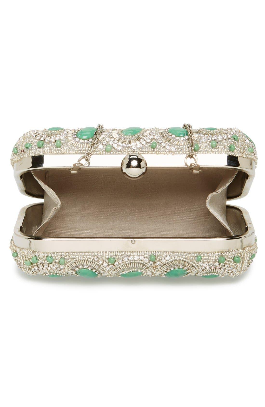 Alternate Image 3  - Micky London Handbags Rhinestone Minaudiere