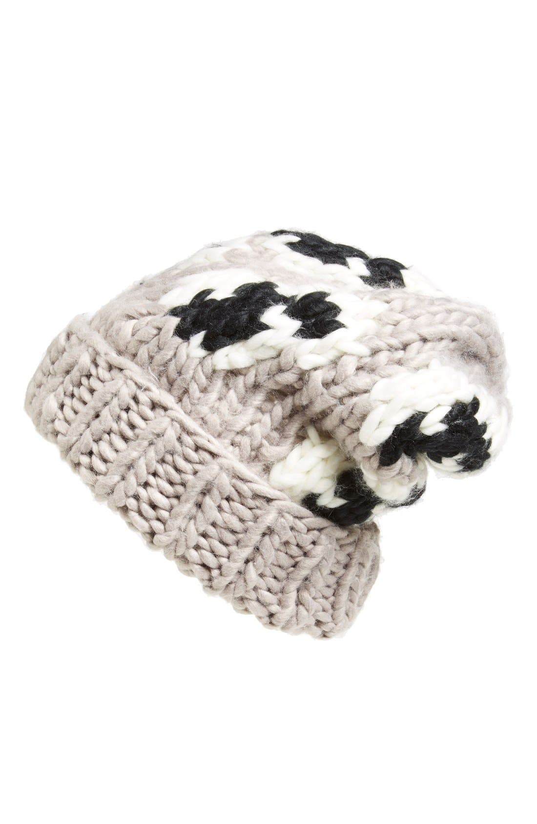 Alternate Image 1 Selected - Leith Chunky Intarsia Beanie