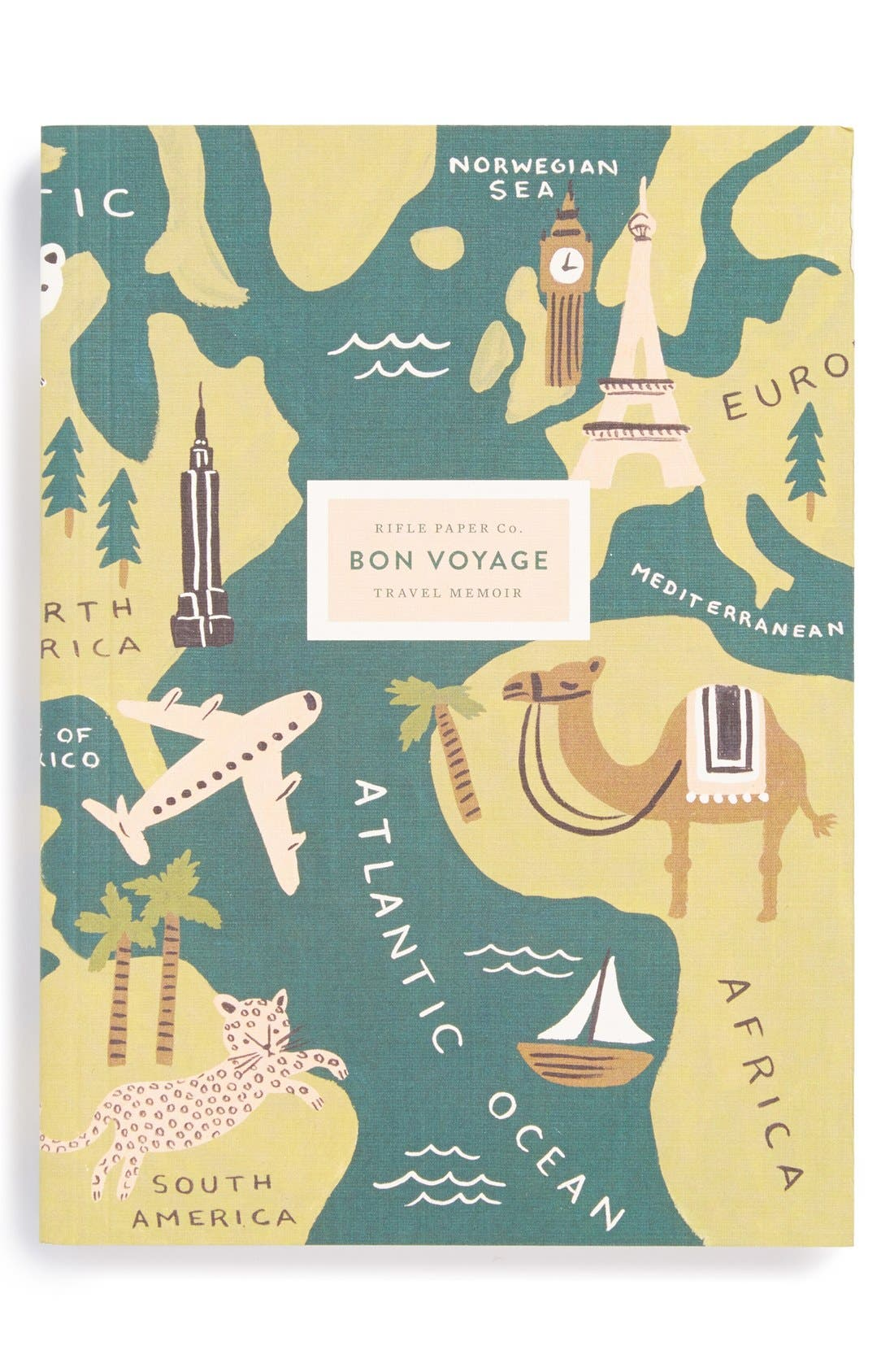 Alternate Image 1 Selected - Rifle Paper Co. 'Bon Voyage' Journal
