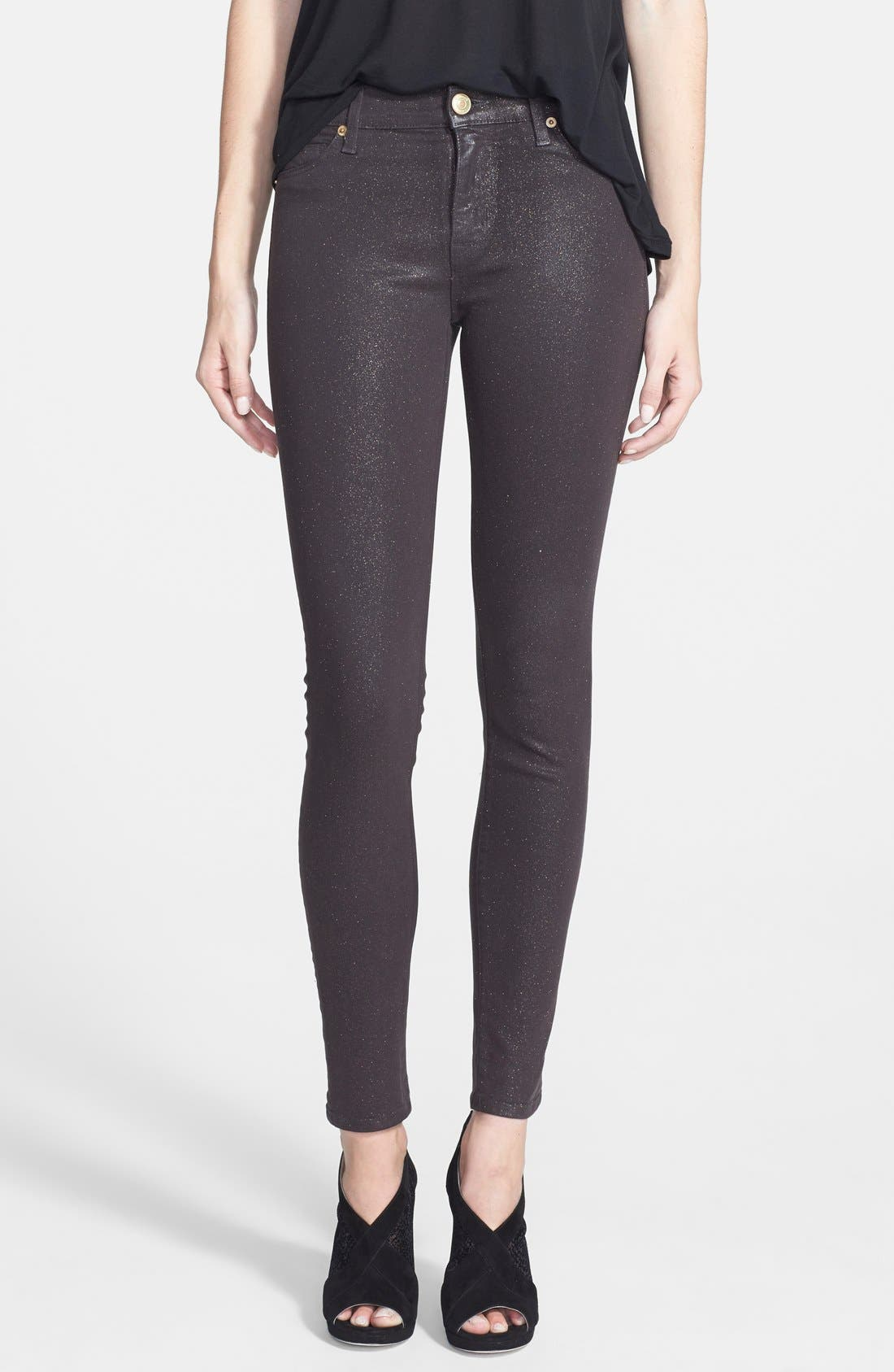Main Image - Hudson Jeans 'Nico' Skinny Stretch Jeans (Tactics)