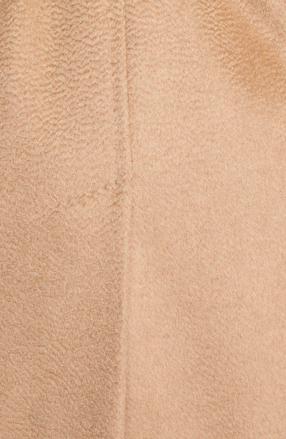 Alternate Image 4  - Max Mara 'Rialto' Hooded Camel Hair Wrap Coat