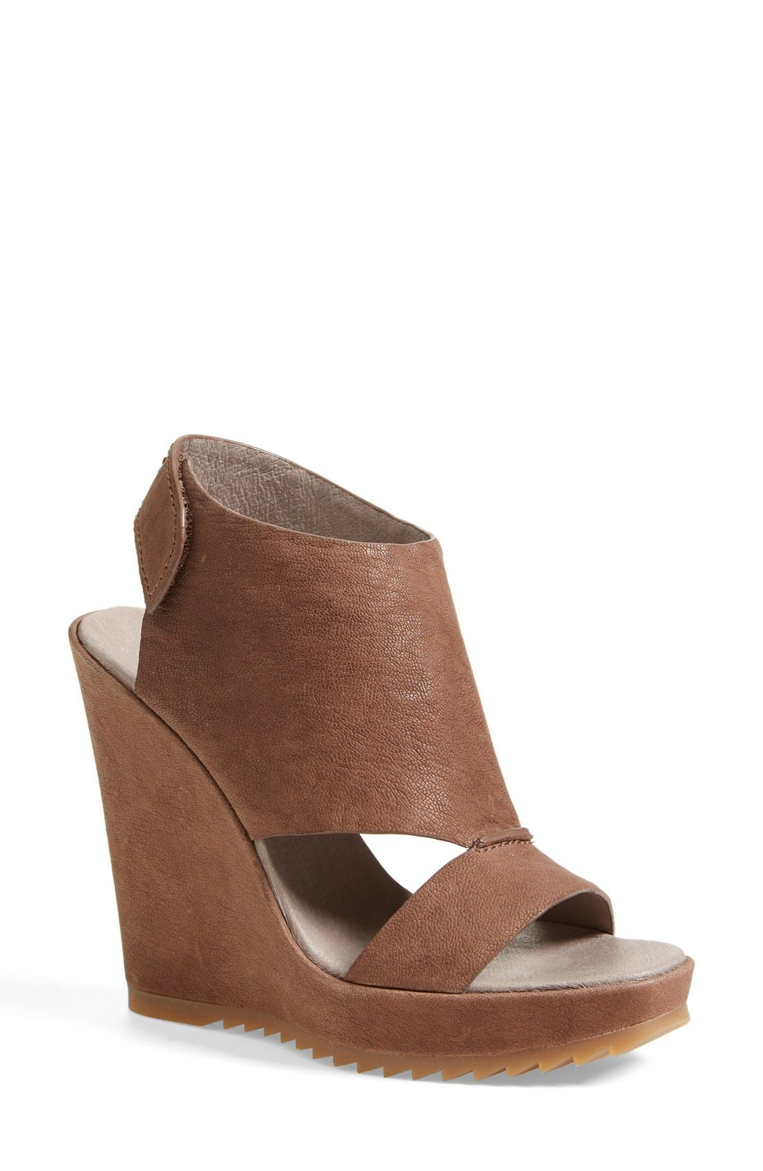 Alternate Image 1 Selected - Vince Camuto 'Gevara' Leather Platform Wedge (Women)