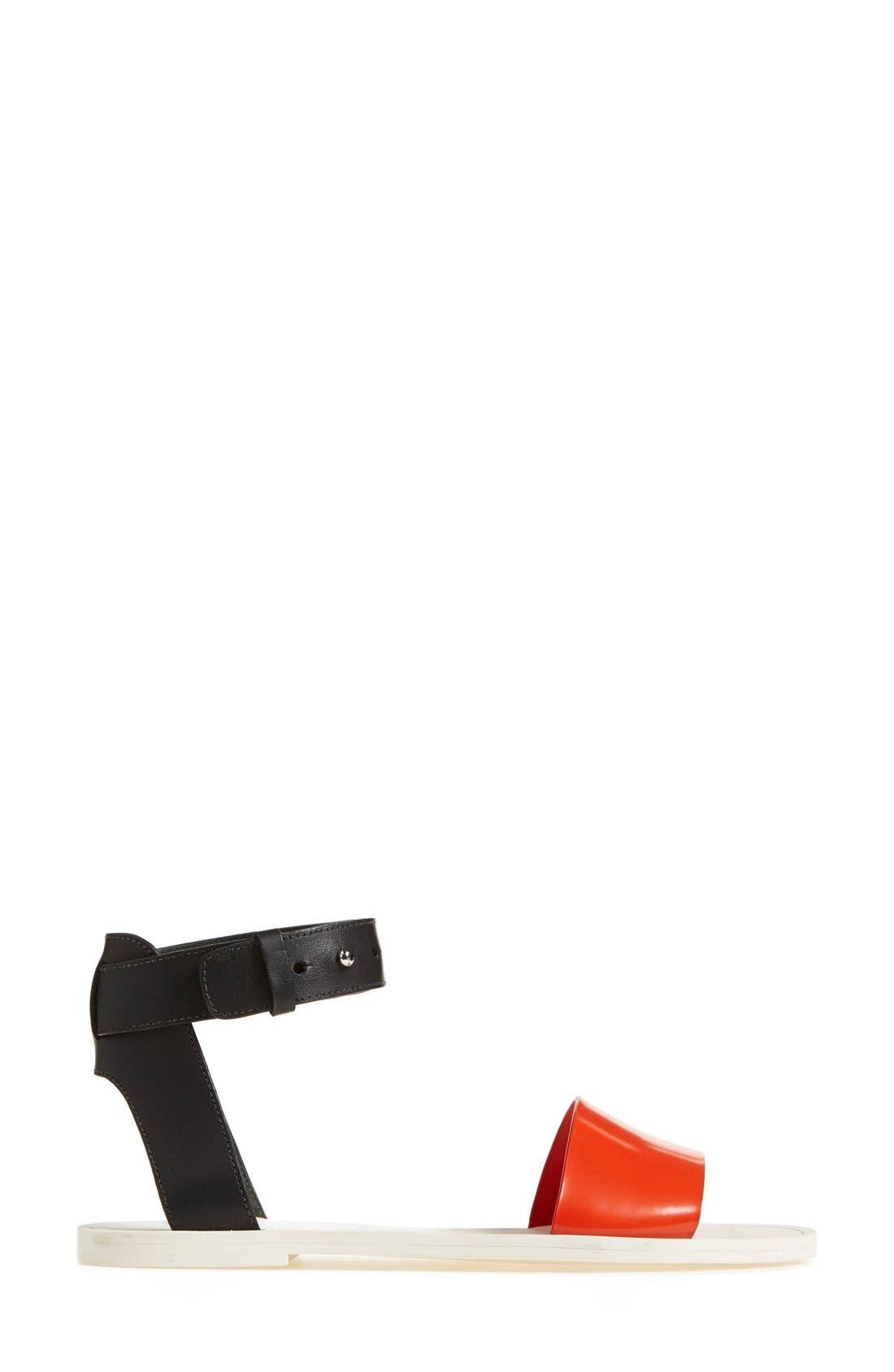 Alternate Image 4  - Vince 'Sawyer' Colorblock Sandal (Women)