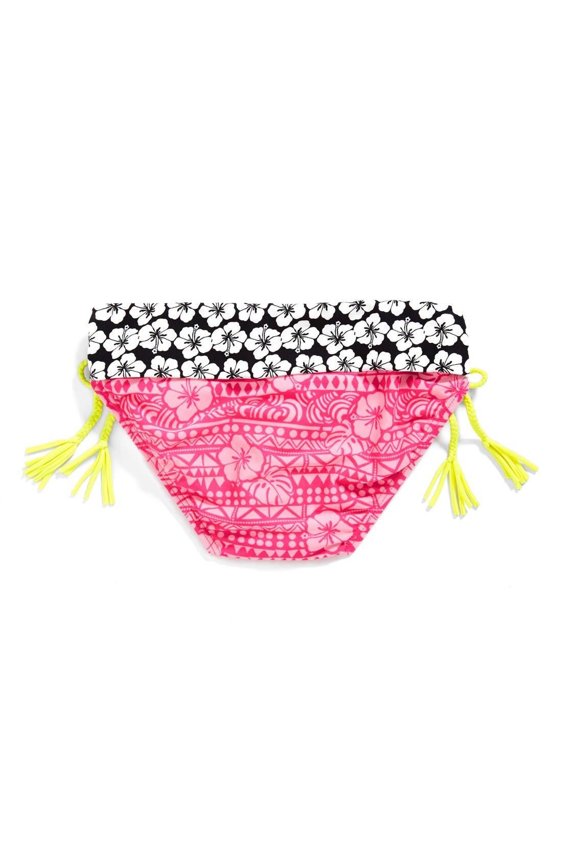 Alternate Image 2  - Gossip Girl 'Surfin Safari' Two-Piece Swimsuit (Big Girls)