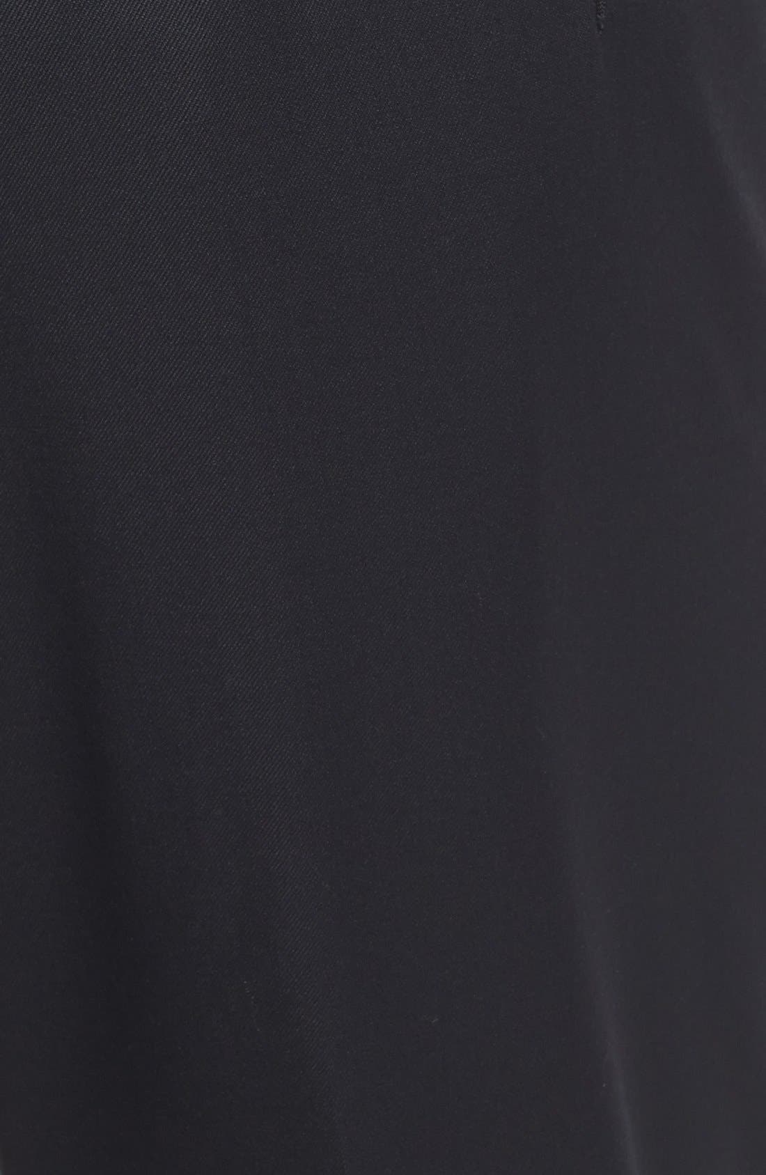 Alternate Image 2  - Di Milano Uomo Flat Front Serge Trousers