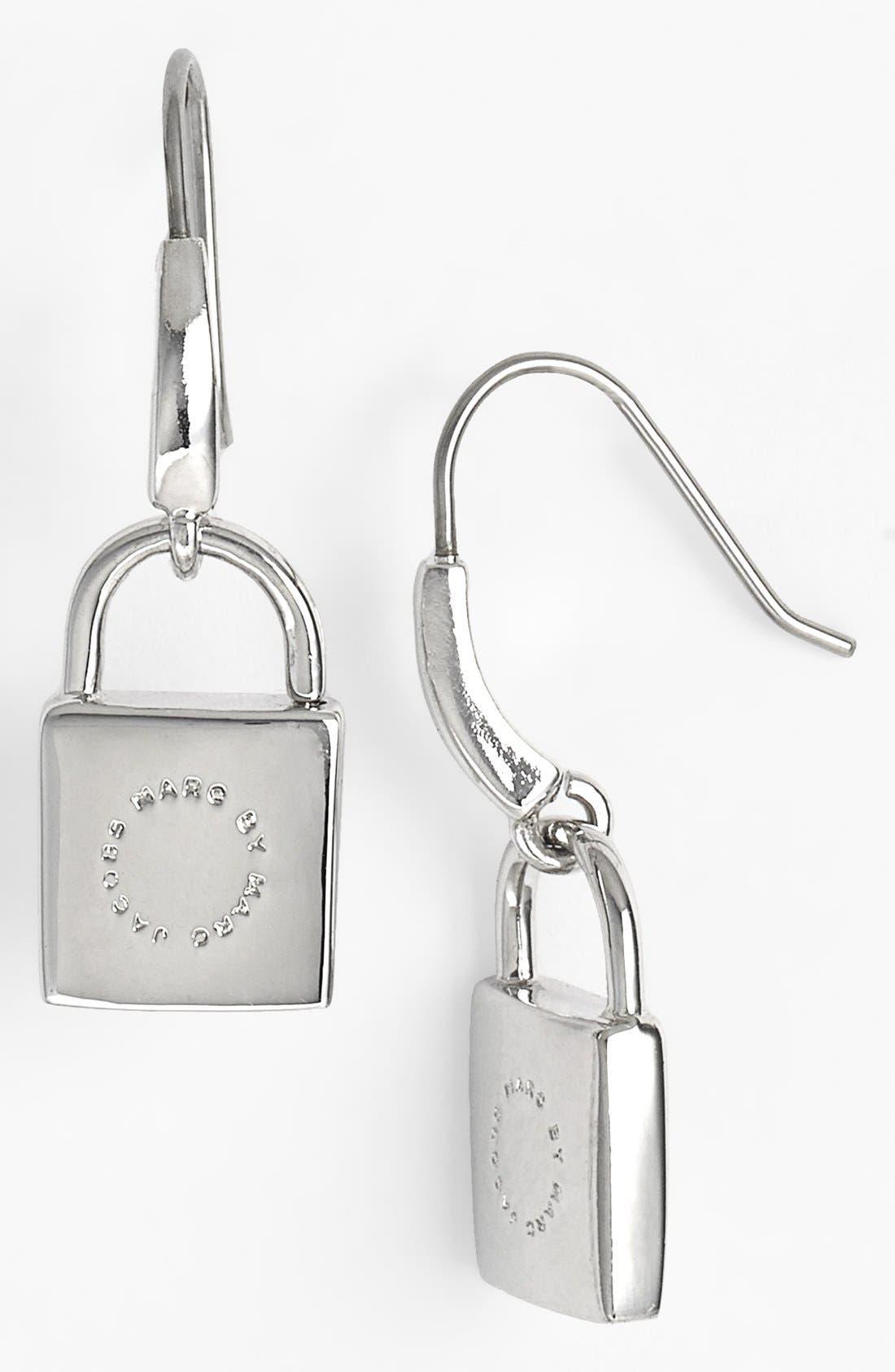 Alternate Image 1 Selected - MARC BY MARC JACOBS 'Locked in Orbit' Drop Earrings