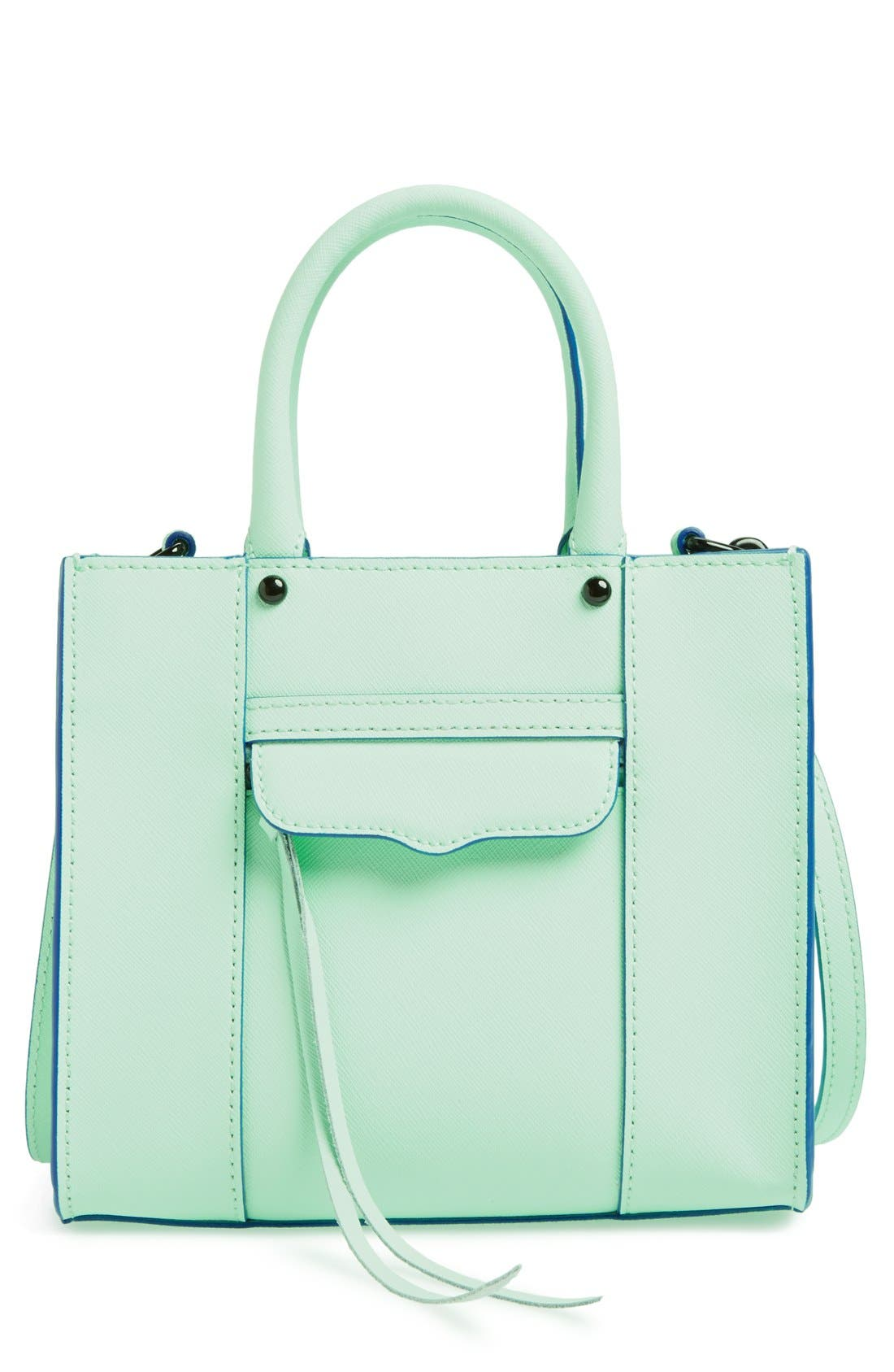 Alternate Image 1 Selected - Rebecca Minkoff 'Mini MAB Tote' Crossbody Bag