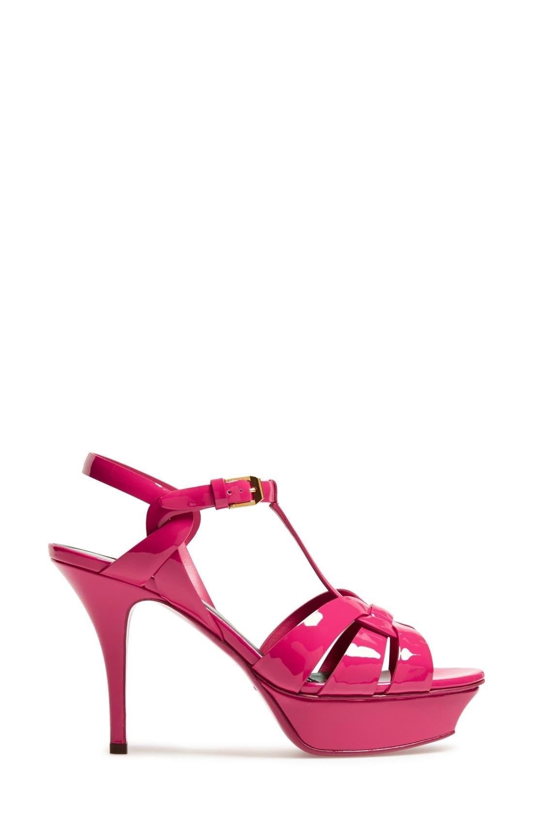 Alternate Image 4  - Saint Laurent 'Tribute' T-Strap Sandal (Women)