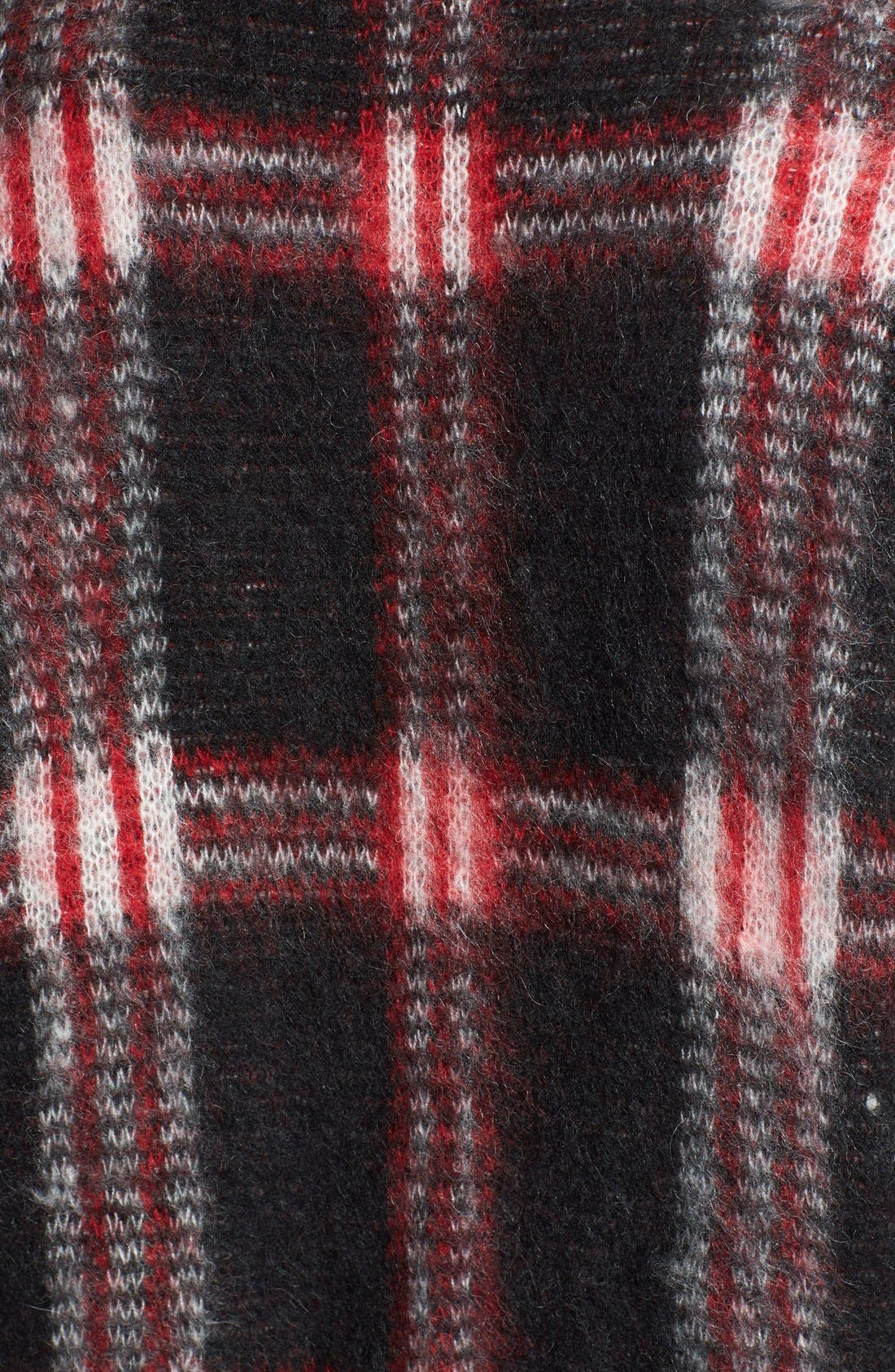 Alternate Image 3  - MICHAEL Michael Kors Plaid V-Neck Cardigan
