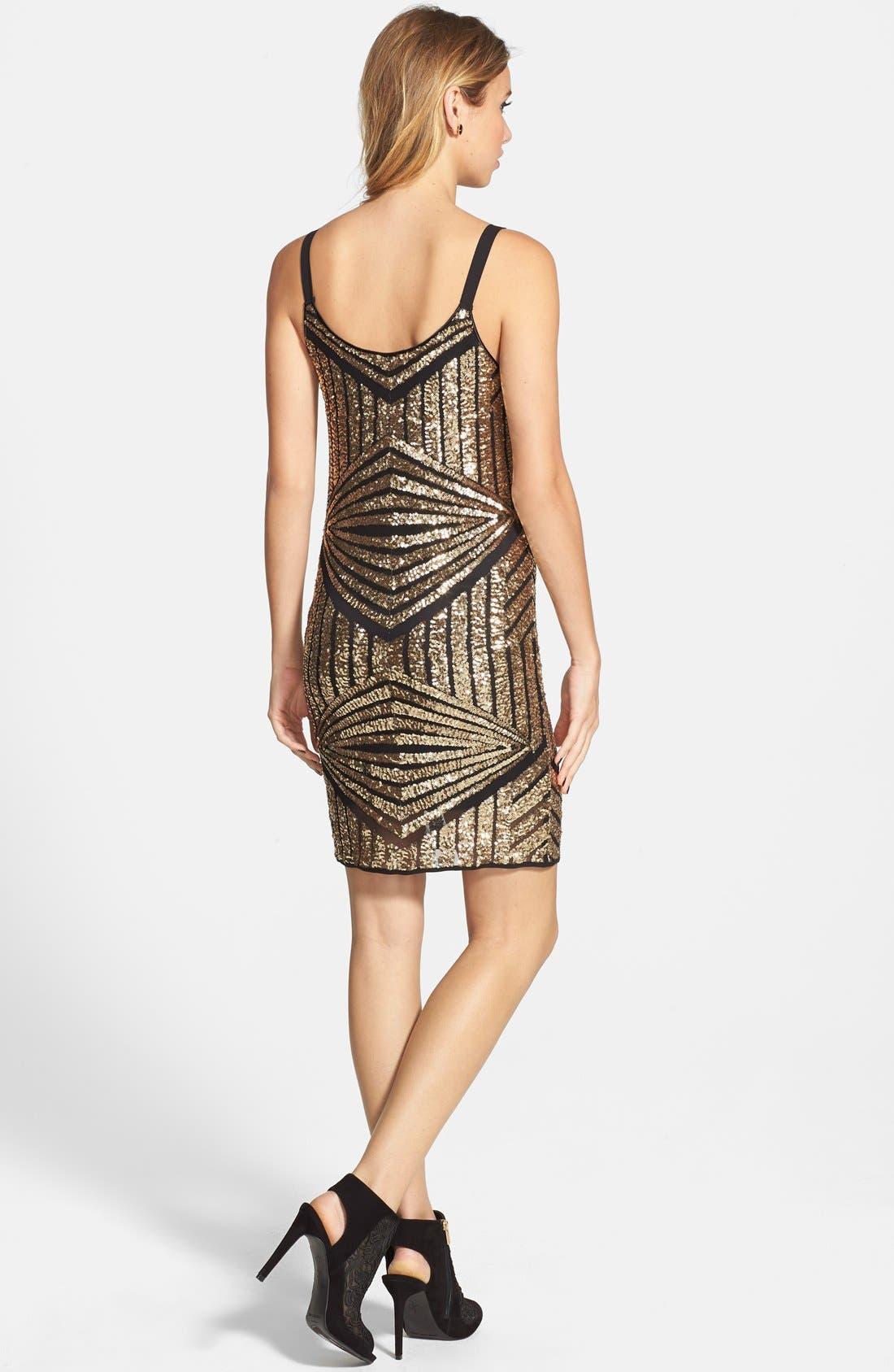 Alternate Image 2  - Soprano Sequin Sheath Dress (Juniors)