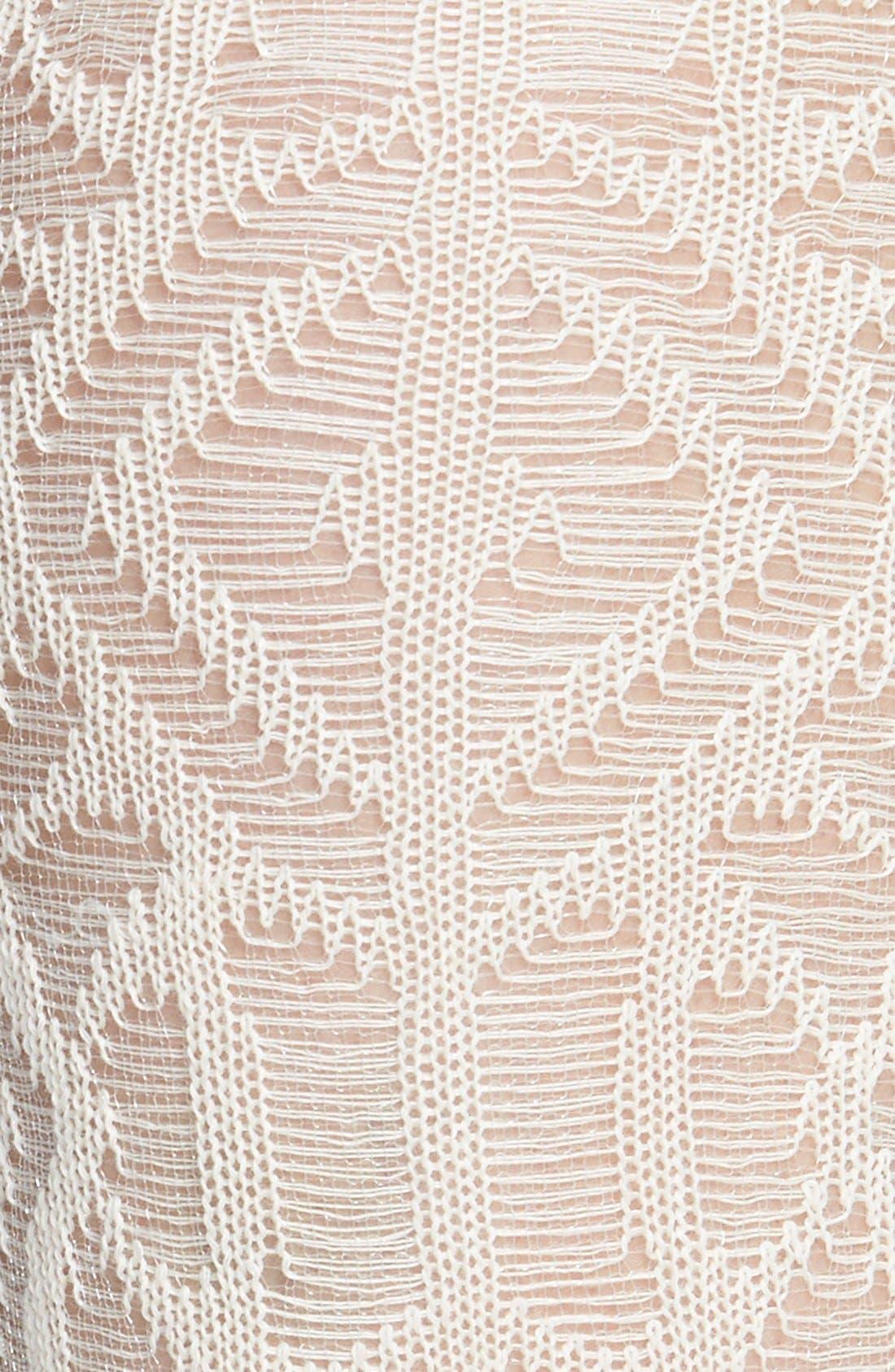 Alternate Image 2  - Nordstrom Sheer Knit Knee Socks