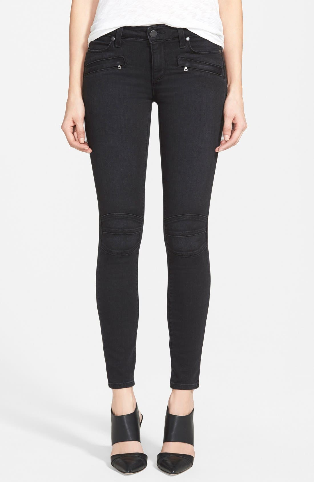 Alternate Image 1 Selected - Paige Denim 'Ollie' Ultra Skinny Jeans (Cleo No Whiskers)