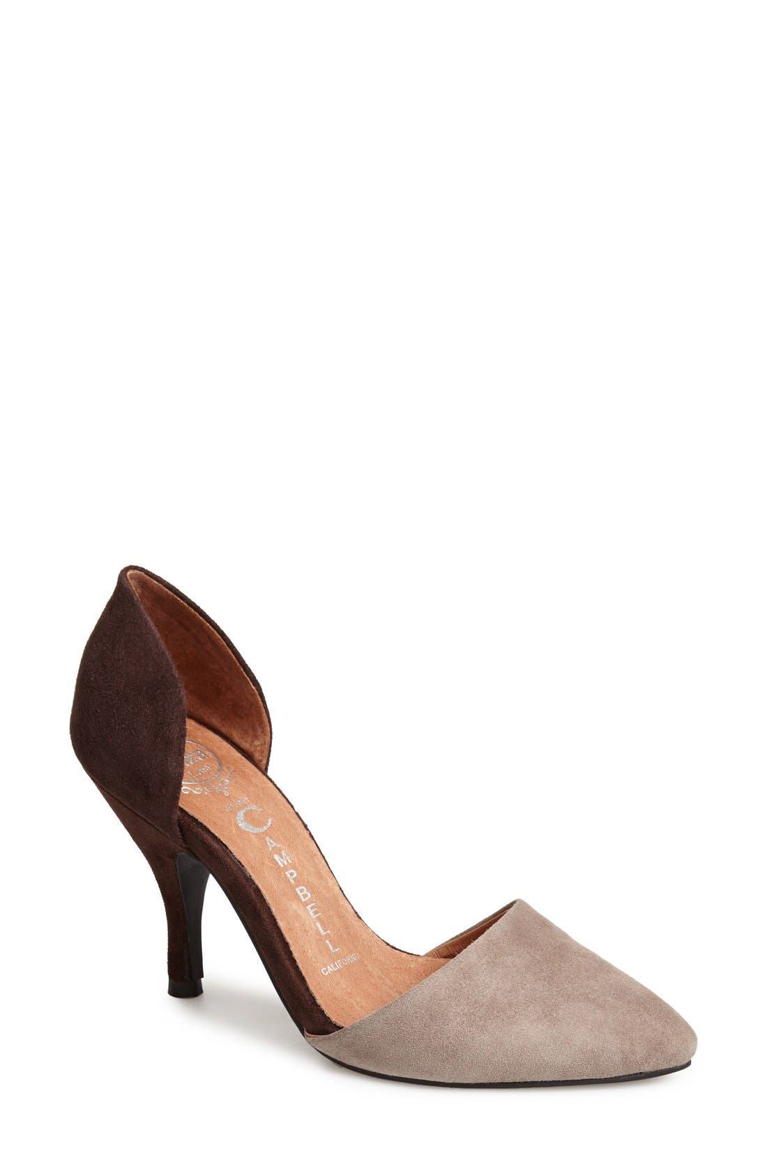 Alternate Image 1 Selected - Jeffrey Campbell 'Calista' d'Orsay Pump (Women)