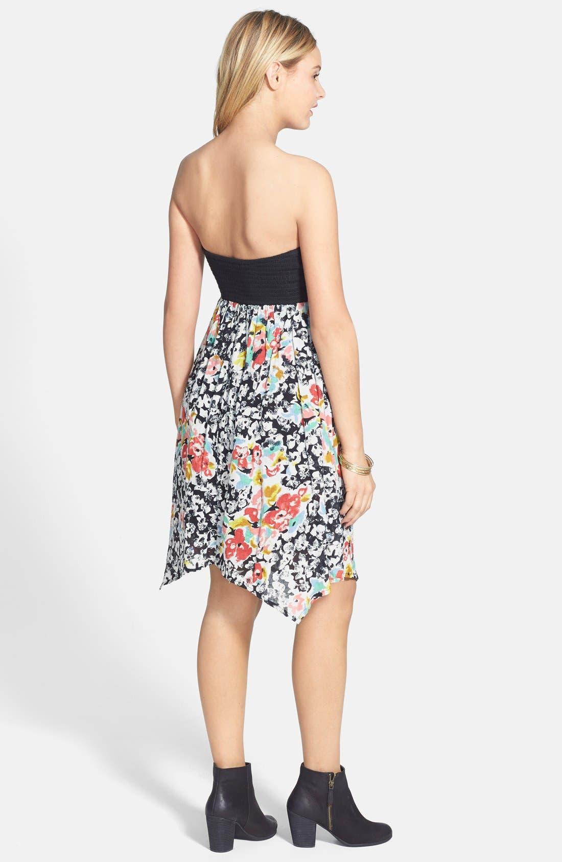 Alternate Image 2  - Volcom 'Spinternship' Floral Print Dress
