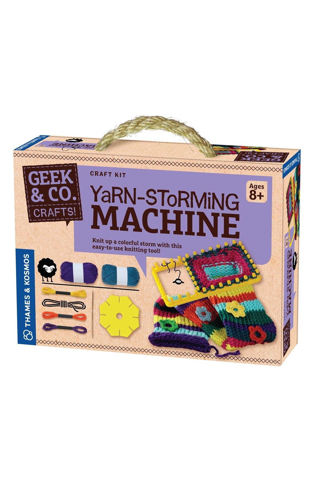 Thames & Kosmos 'Yarn-Storming Machine' Craft Kit